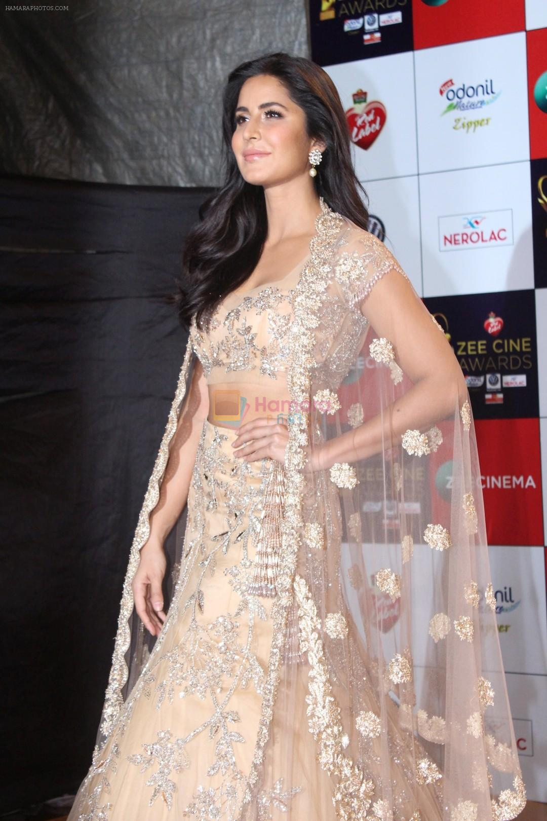 Katrina Kaif at the Red Carpet Event Of Zee Cine Awards ...