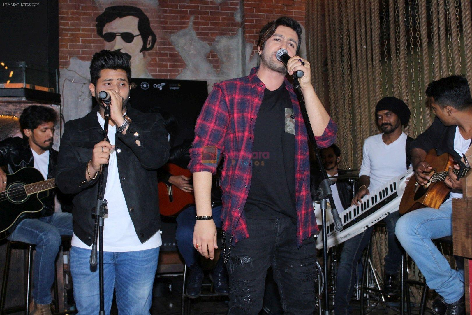 Adhyayan Suman At The Launch Of Singing Debut Saareyan Nu Chaddeya on 21st Dec 2017