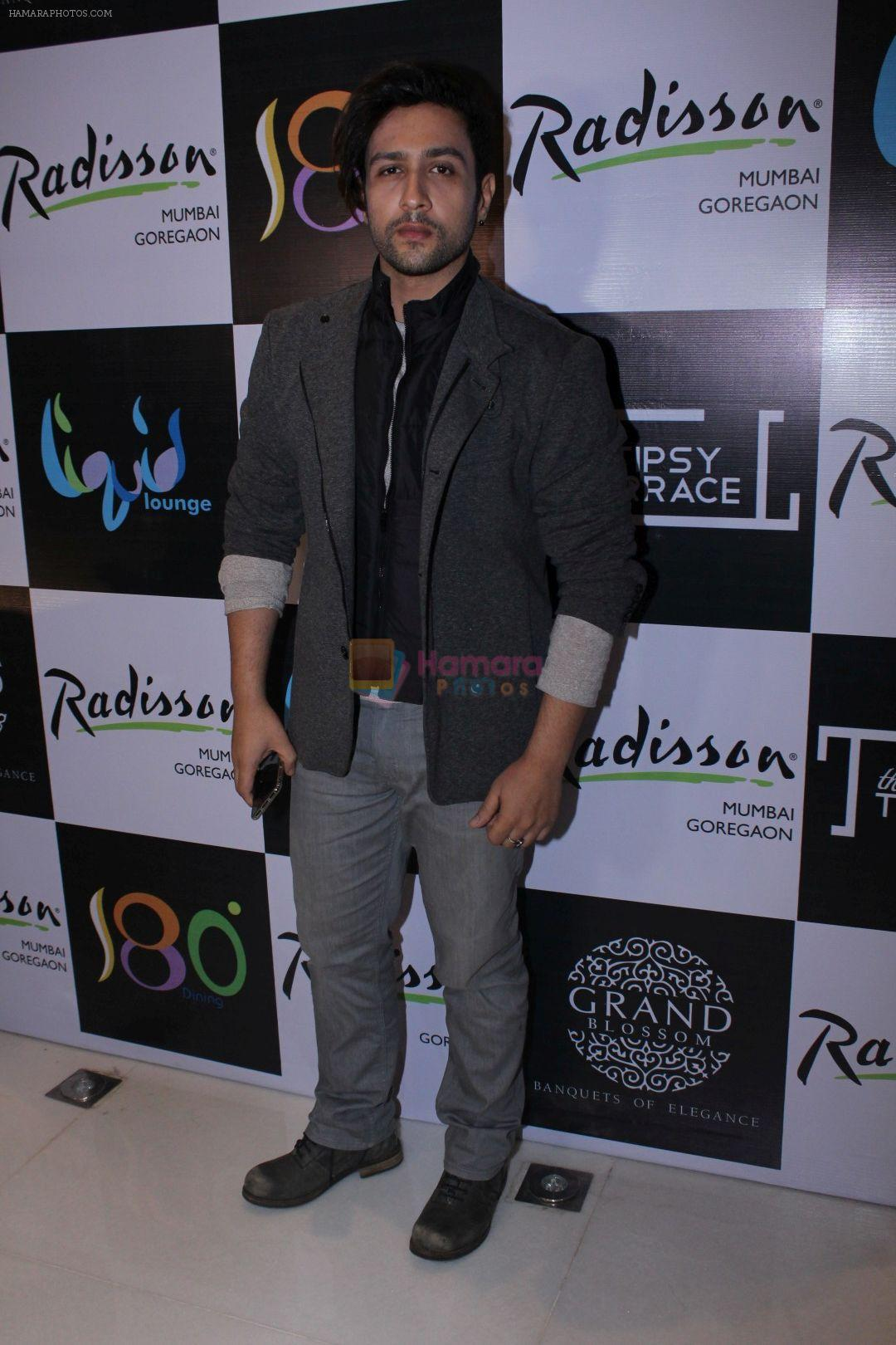 Adhyayan Suman At Radisson Mumbai Host Pre Christmas Party on 22nd Dec 2017