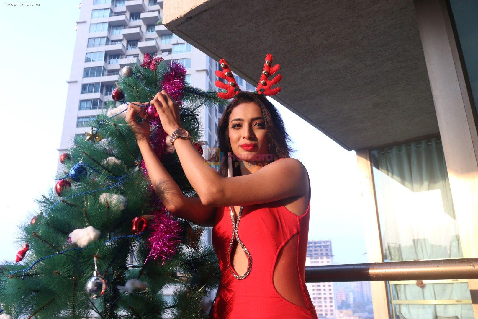 Heena Panchal at Christmas Photoshoot on 22nd Dec 2017