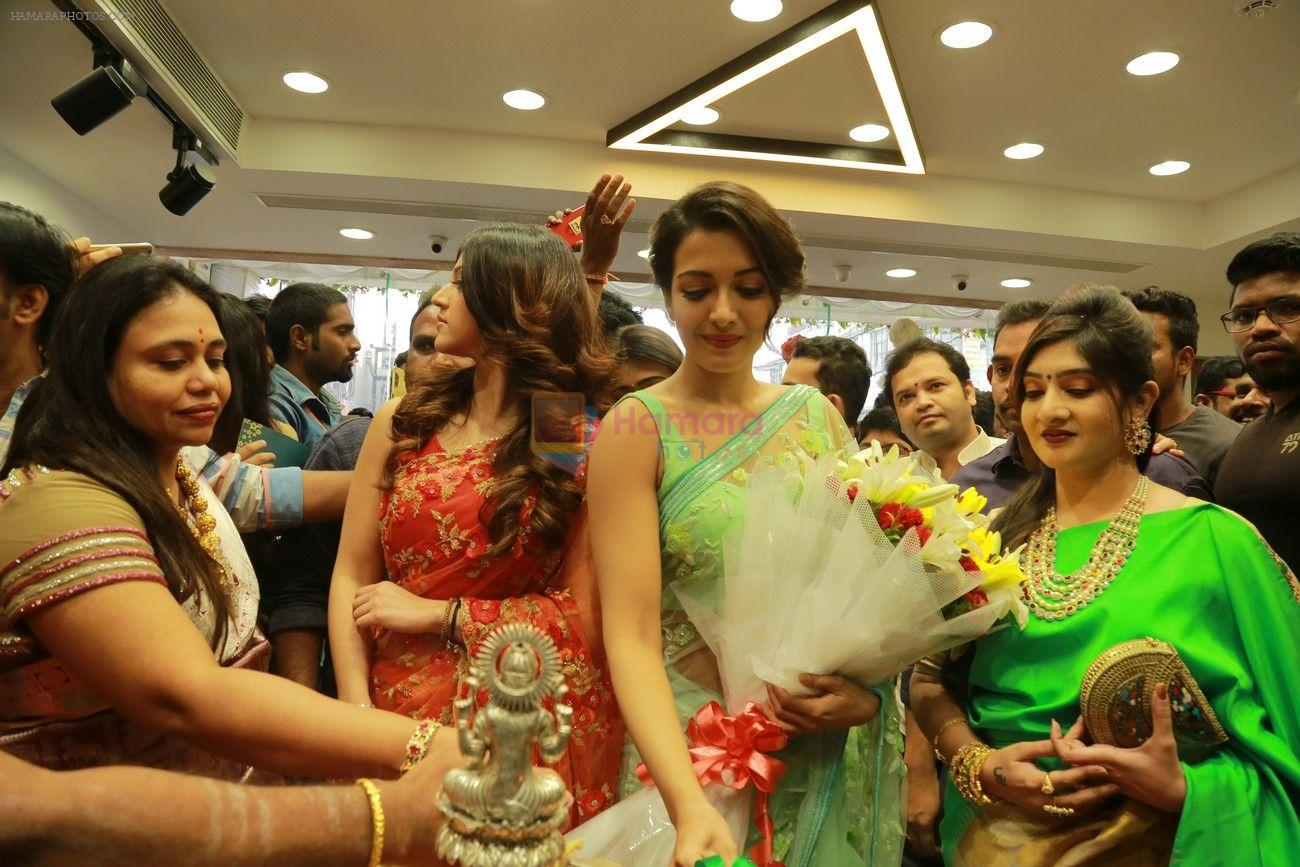 Catherine Tresa, Mehareen, Shalini Pandey launch KLM Fashion Mall at Vizag on 25th Dec 2017