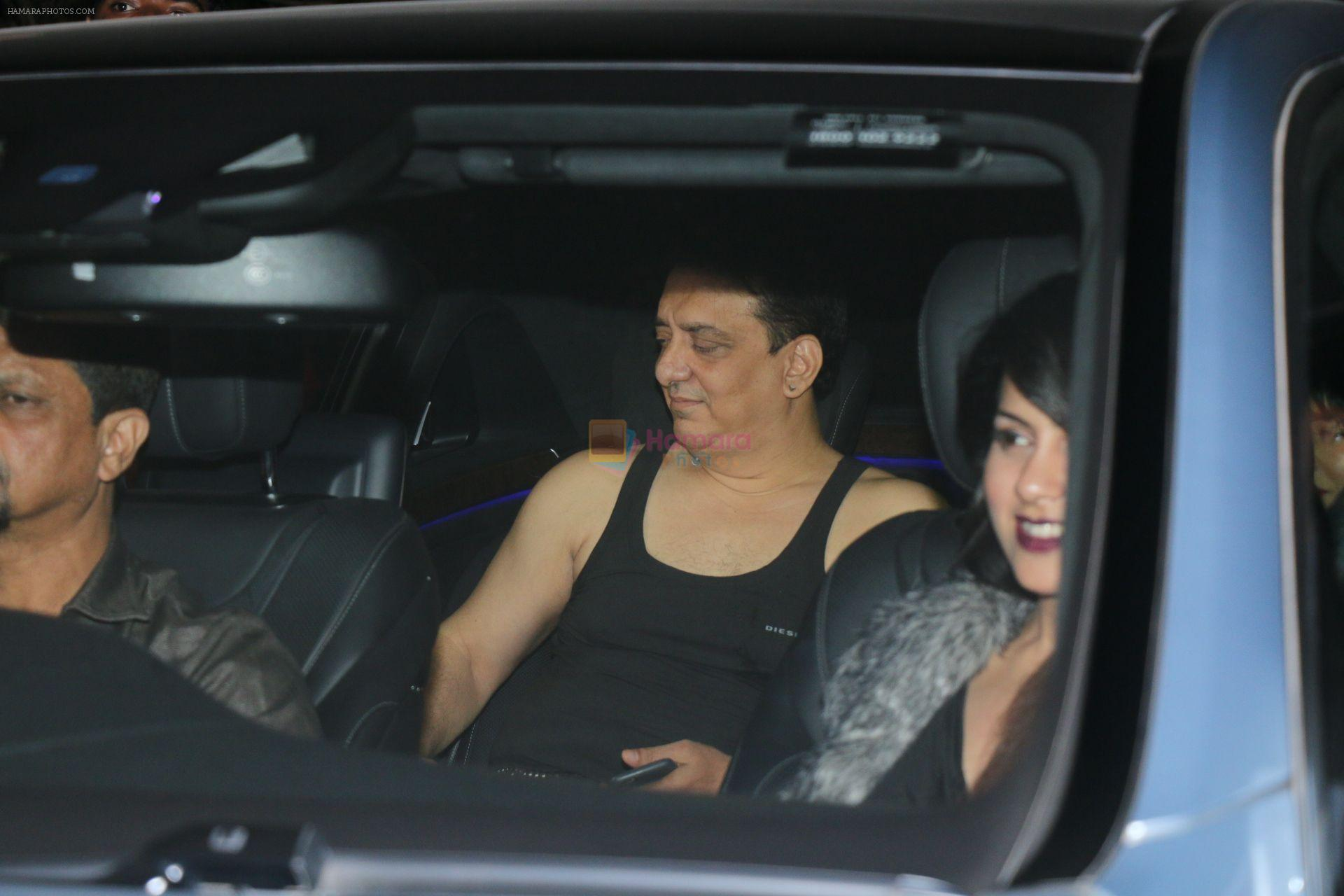Sajid Nadiadwala at Salman Khan celebrates birthday at his panvel farmhouse on 26th Dec 2017