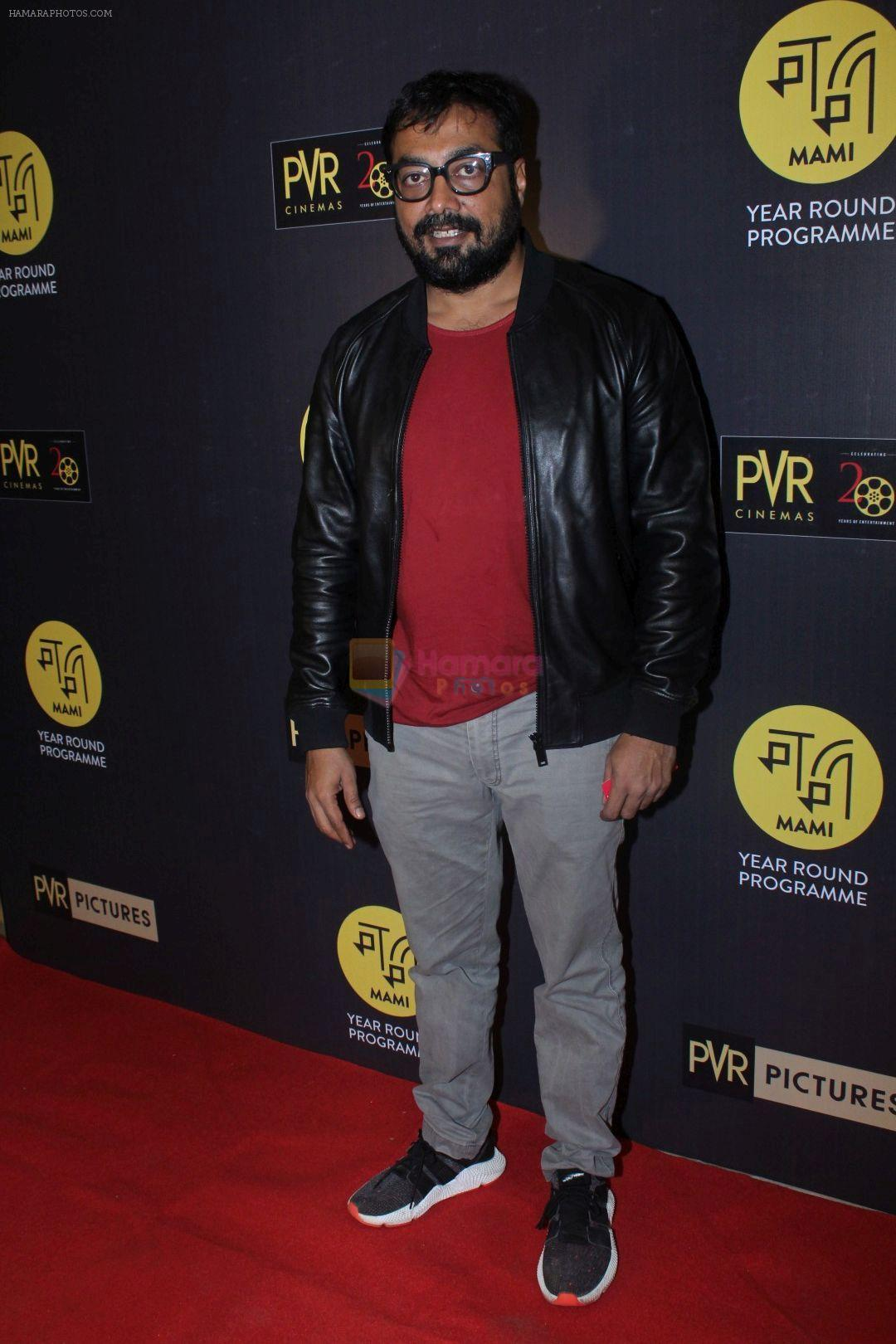 Anurag Kashyap at The Red Carpet Of Hollywood Movie All The Money In The World on 29th Dec 2017