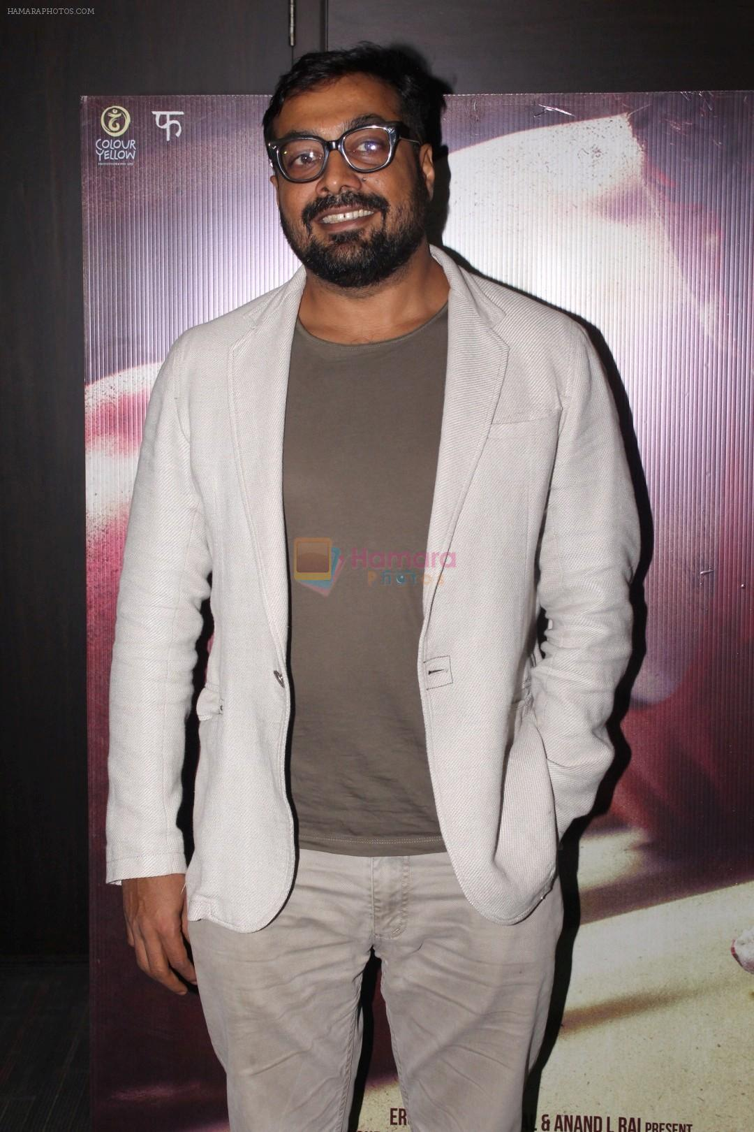Anurag Kashyap at the promotion of Mukkabaaz Movie on 7th Jan 2018