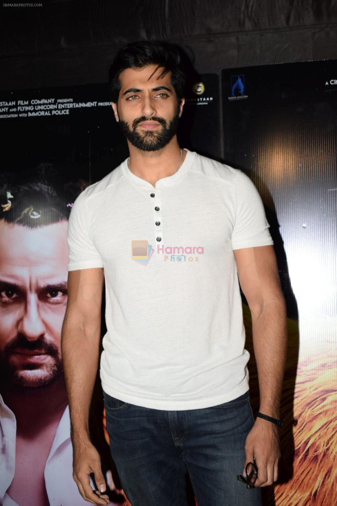 Akshay Oberoi at the Special Screening Of Film Kaalakaandi on 8th Jan 2018