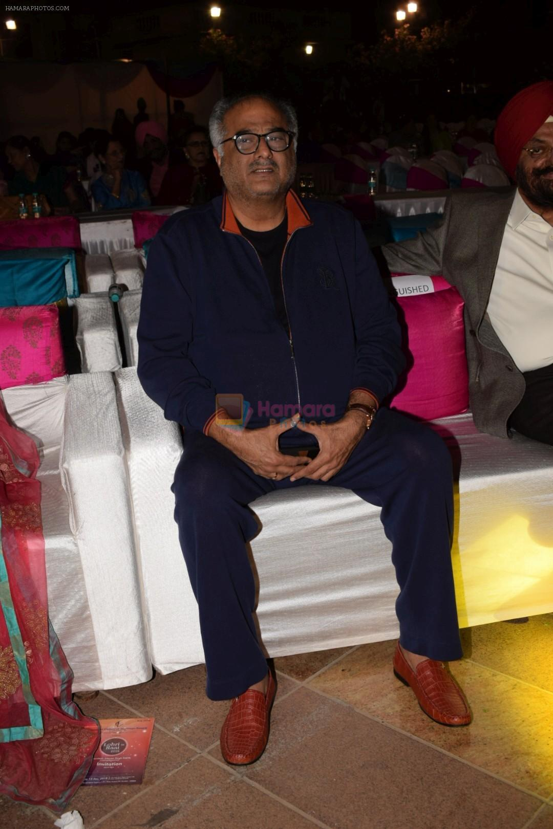 Boney Kapoor at the Celebration Of Lohri Di Raat on 12th Jan 2018