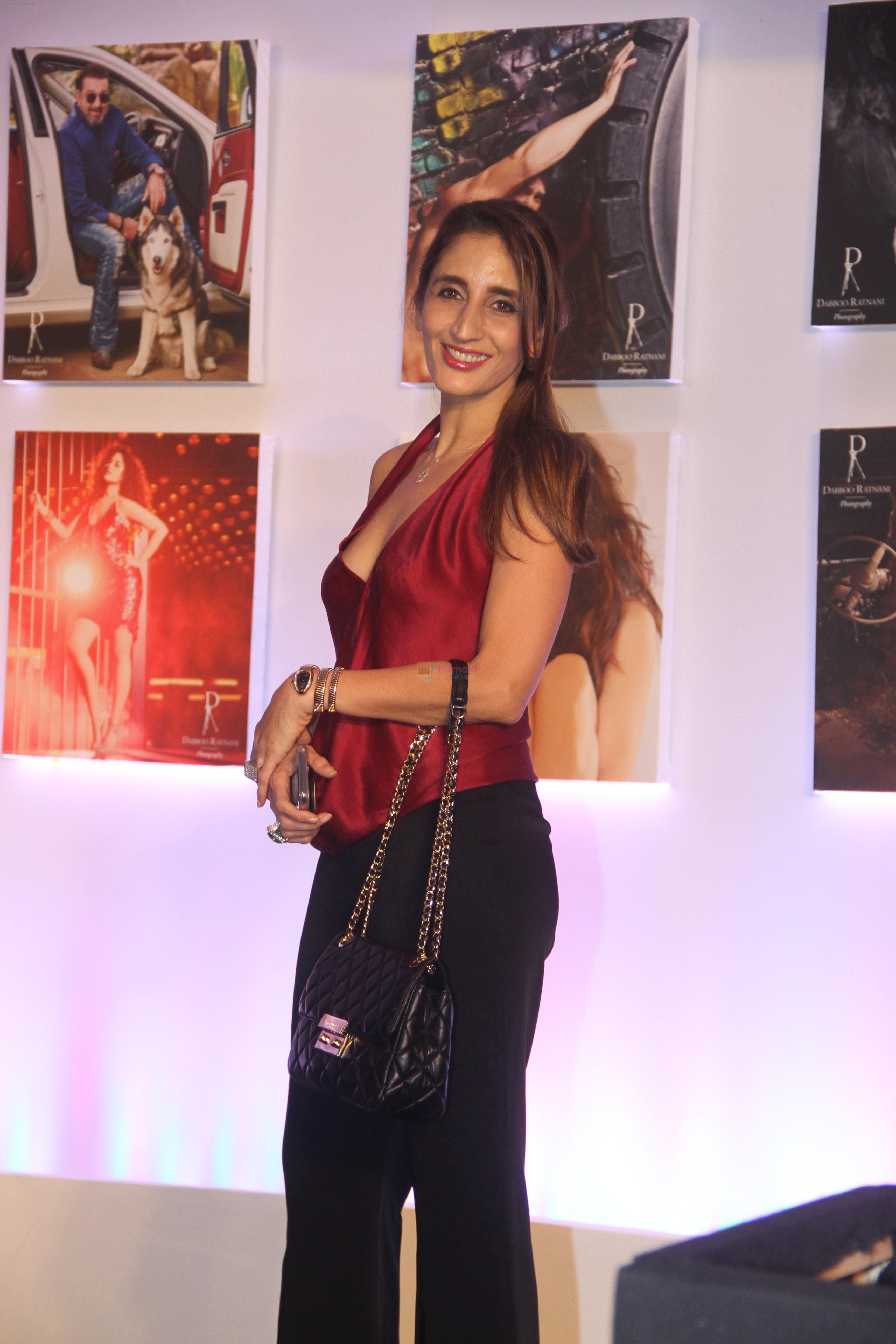 Farah Ali Khan at the Launch Of Dabboo Ratnani Calendar 2018 on 17th Jan 2018