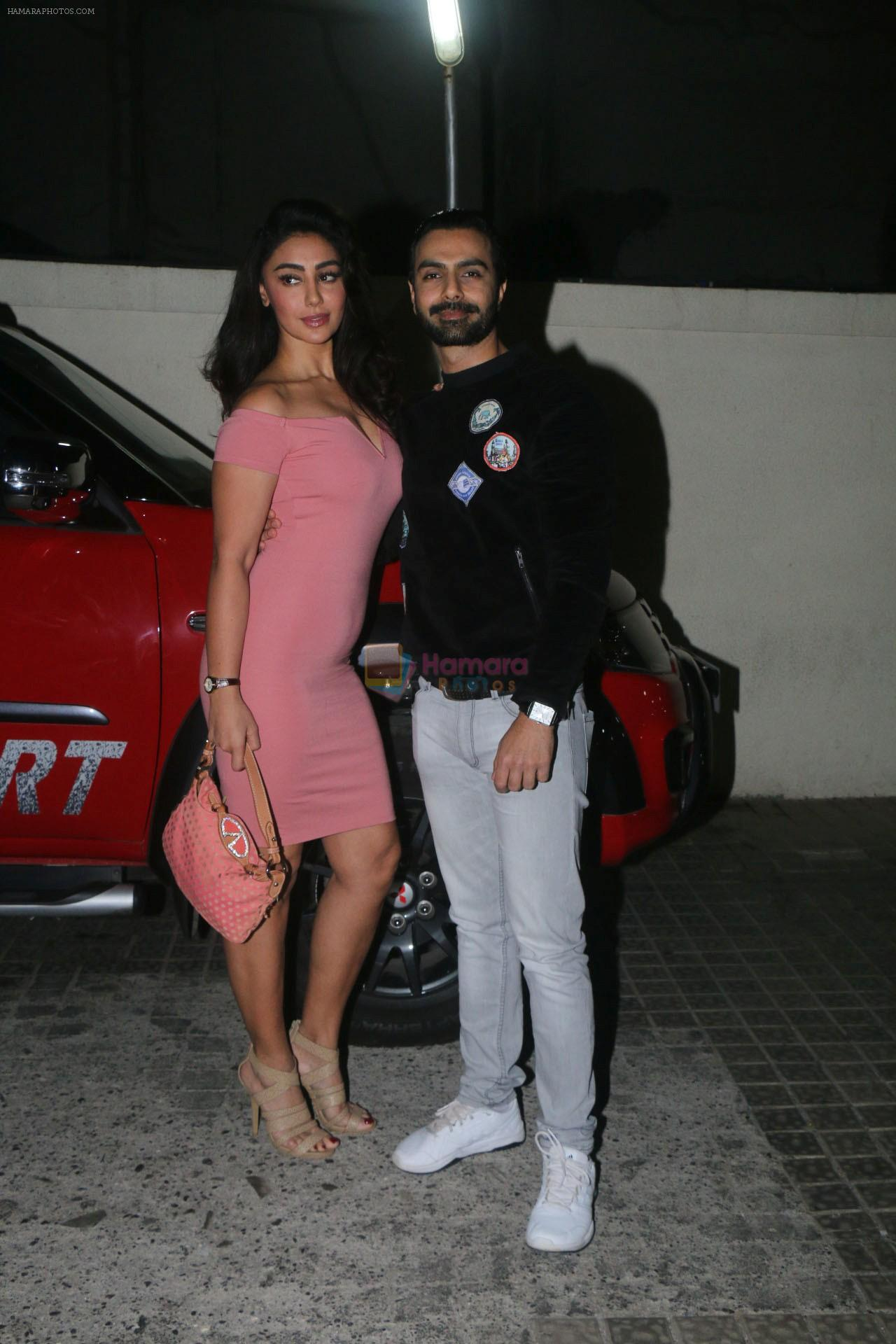 Ashmit Patel, Mahek Chahal at the Special Screening Of Film Nirdosh on 18th Jan 2018