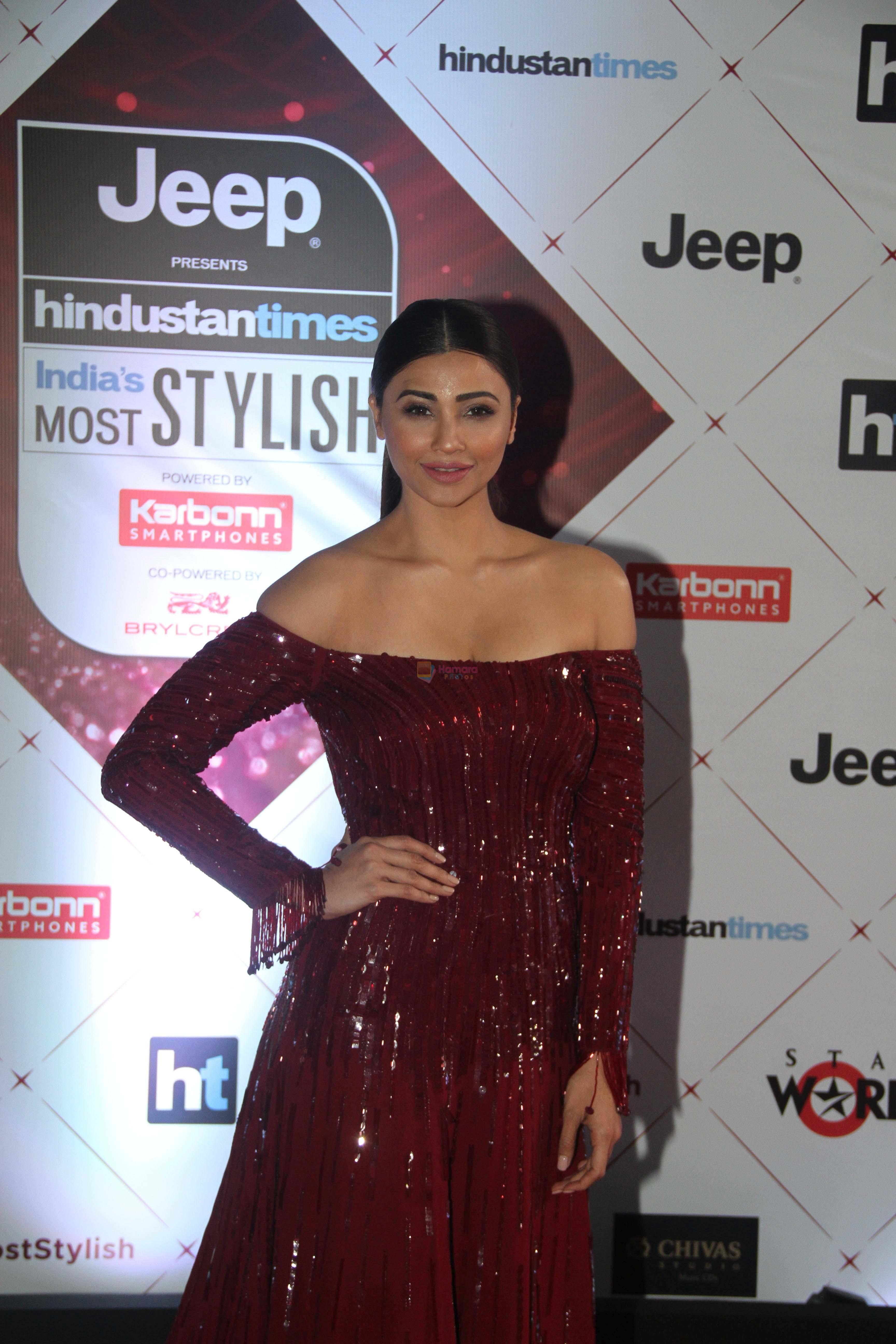 Daisy Shah at the Red Carpet Of Ht Most Stylish Awards 2018 on 24th Jan 2018