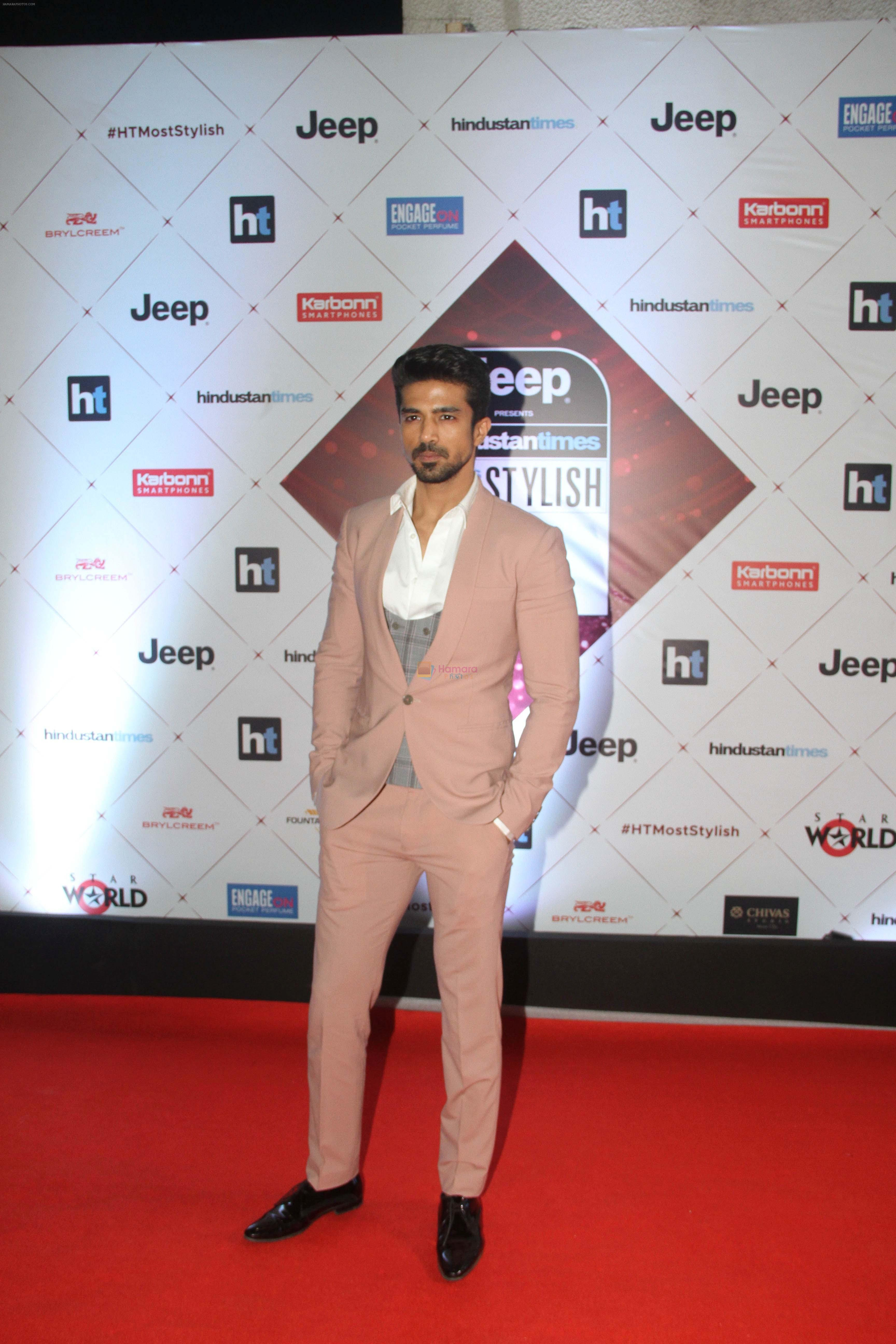 Saqib Saleem at the Red Carpet Of Ht Most Stylish Awards 2018 on 24th Jan 2018