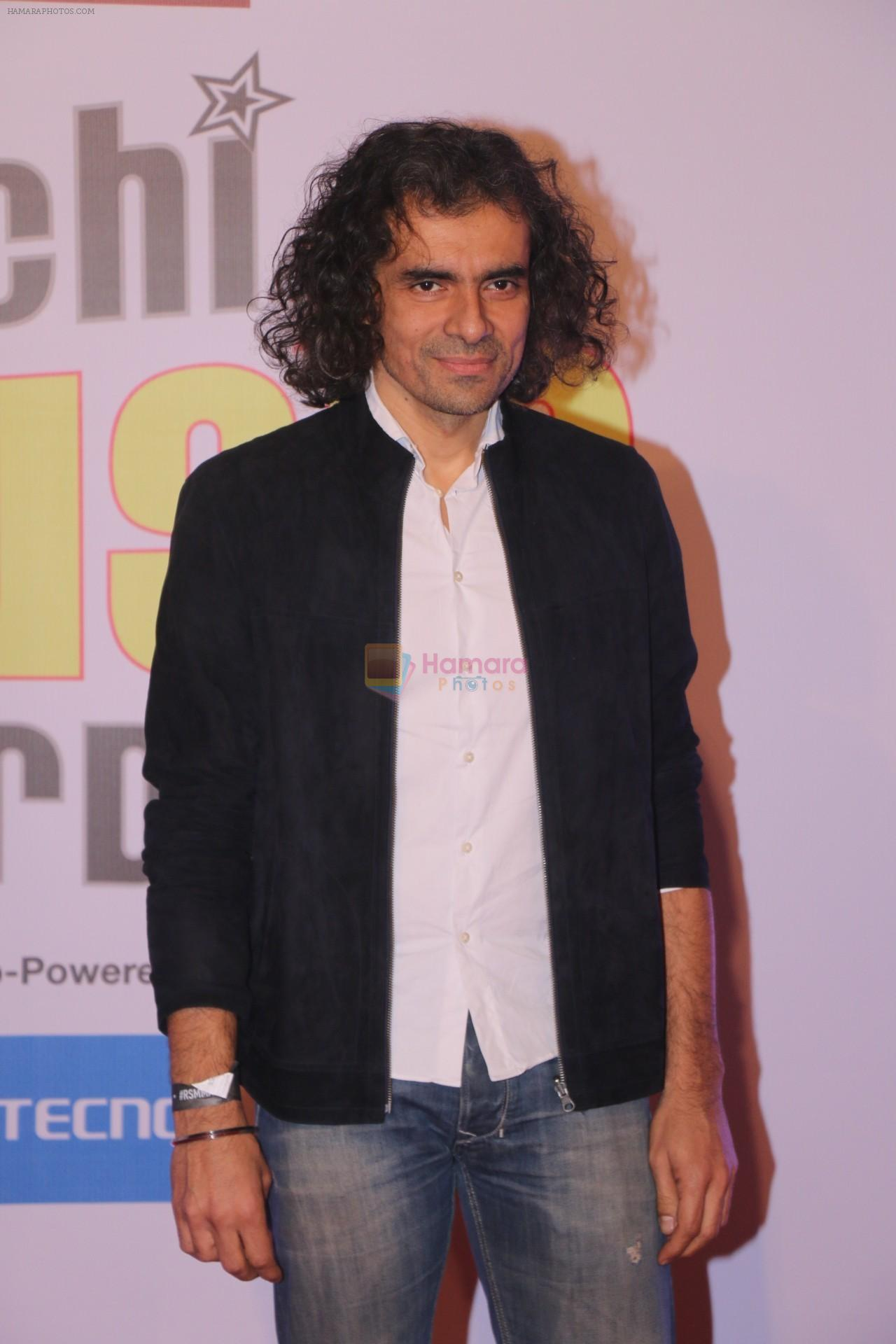 Imtiaz Ali at Mirchi Music Awards in NSCI, Worli, Mumbai on 28th Jan 2018
