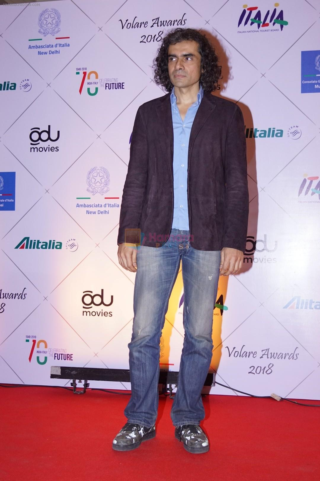 Imtiaz Ali at Red Carpet Of Volare Awards 2018 on 9th Feb 2018