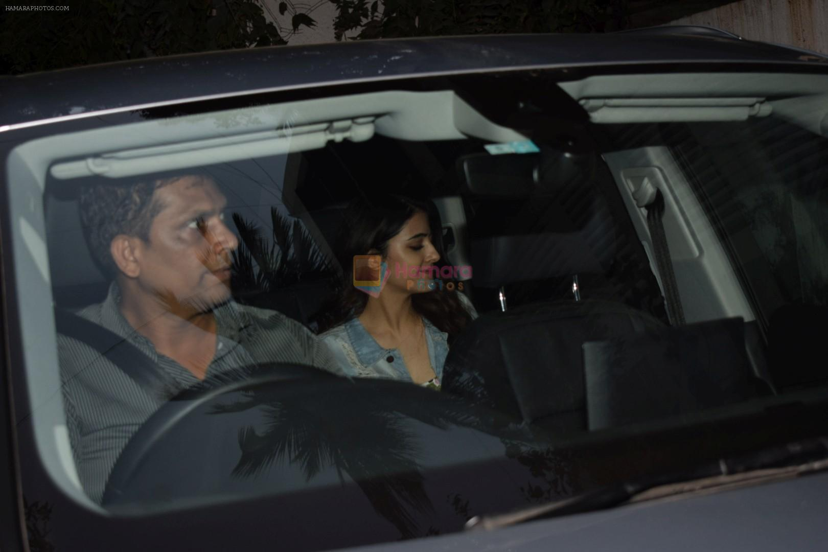 Kriti Sanon sister Nupur Sanon spotted leaving Dinesh Vijan's office Maddock Production on 12th Feb 2018