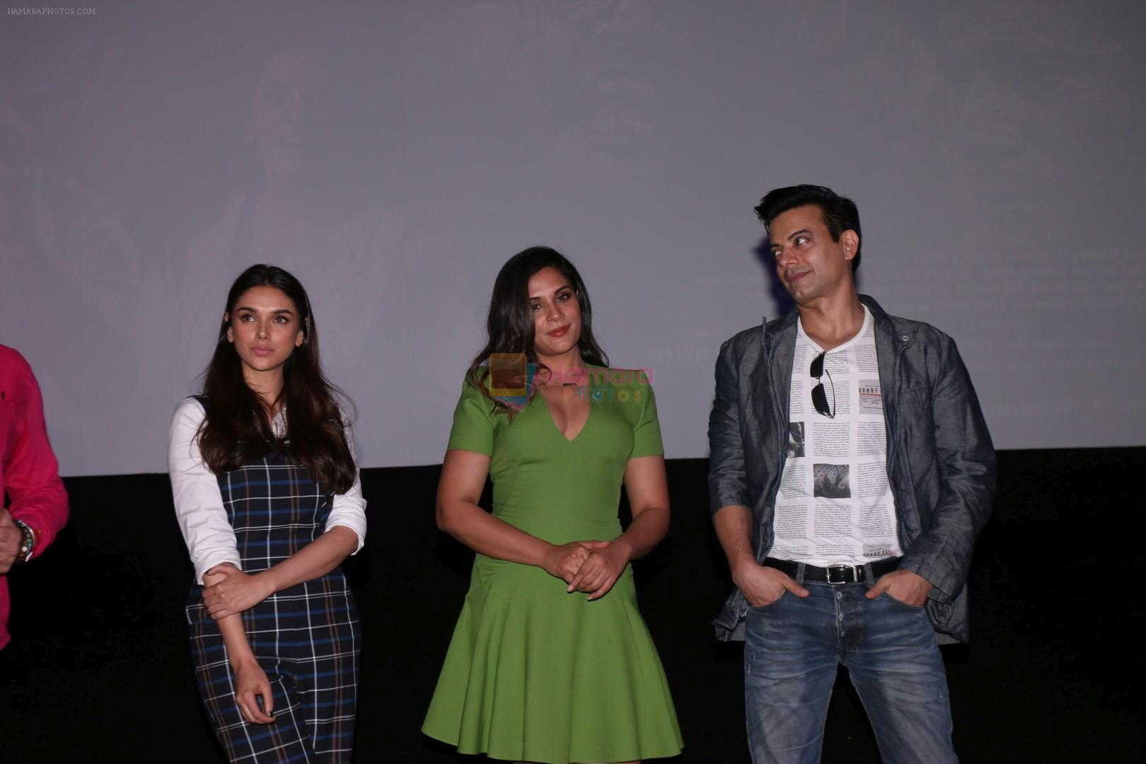 Richa Chadda, Rahul Bhat, Aditi Rao Hydari At Trailer Launch Of Film Daas Dev on 14th Feb 2018