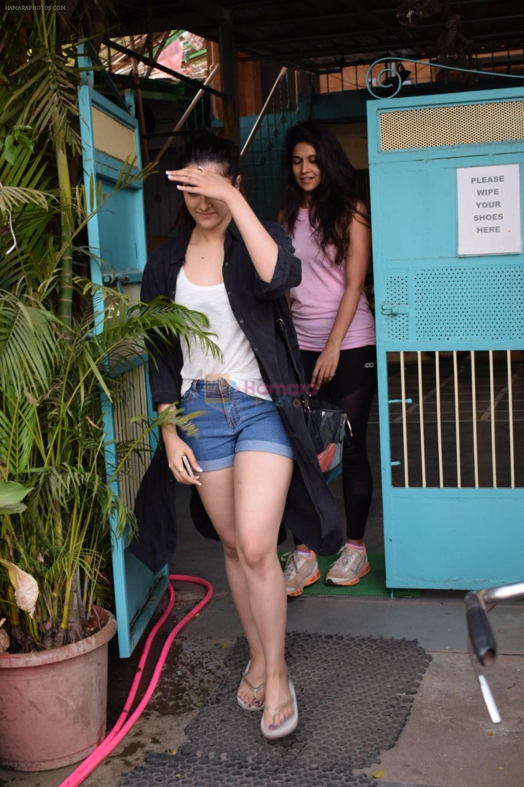 Nupur Sanon Spotted At Versova
