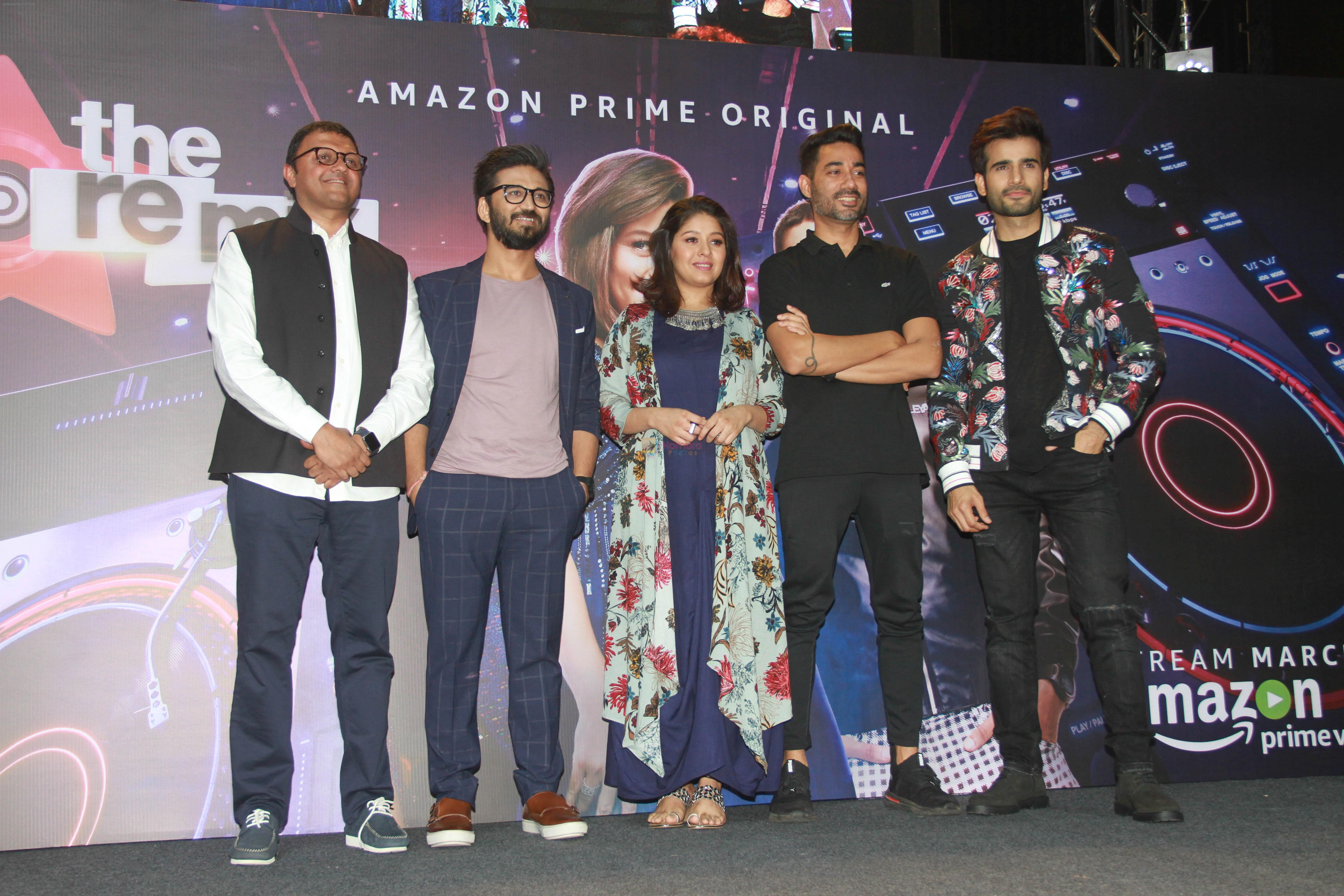 Sunidhi Chauhan, Karan Tacker at the Trailer Launch Of Amazon Prime Original The Remix