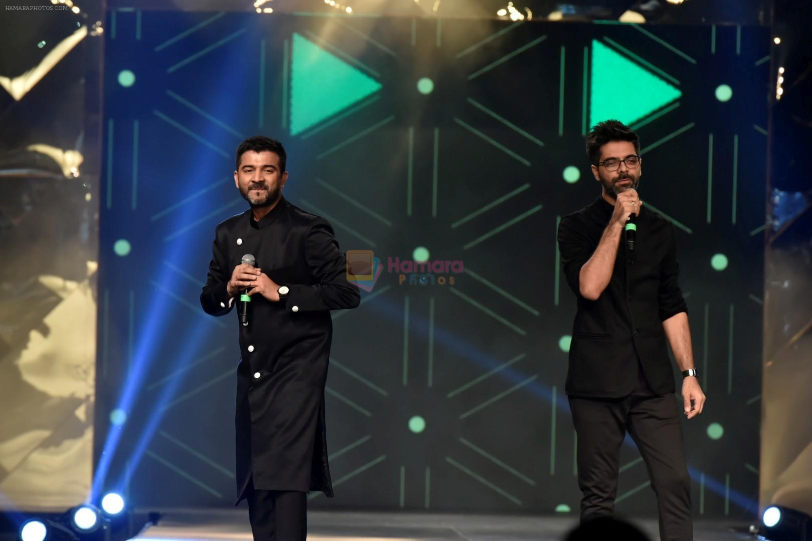 Sachin-Jigar Performance at Caring with Style Fashion Show