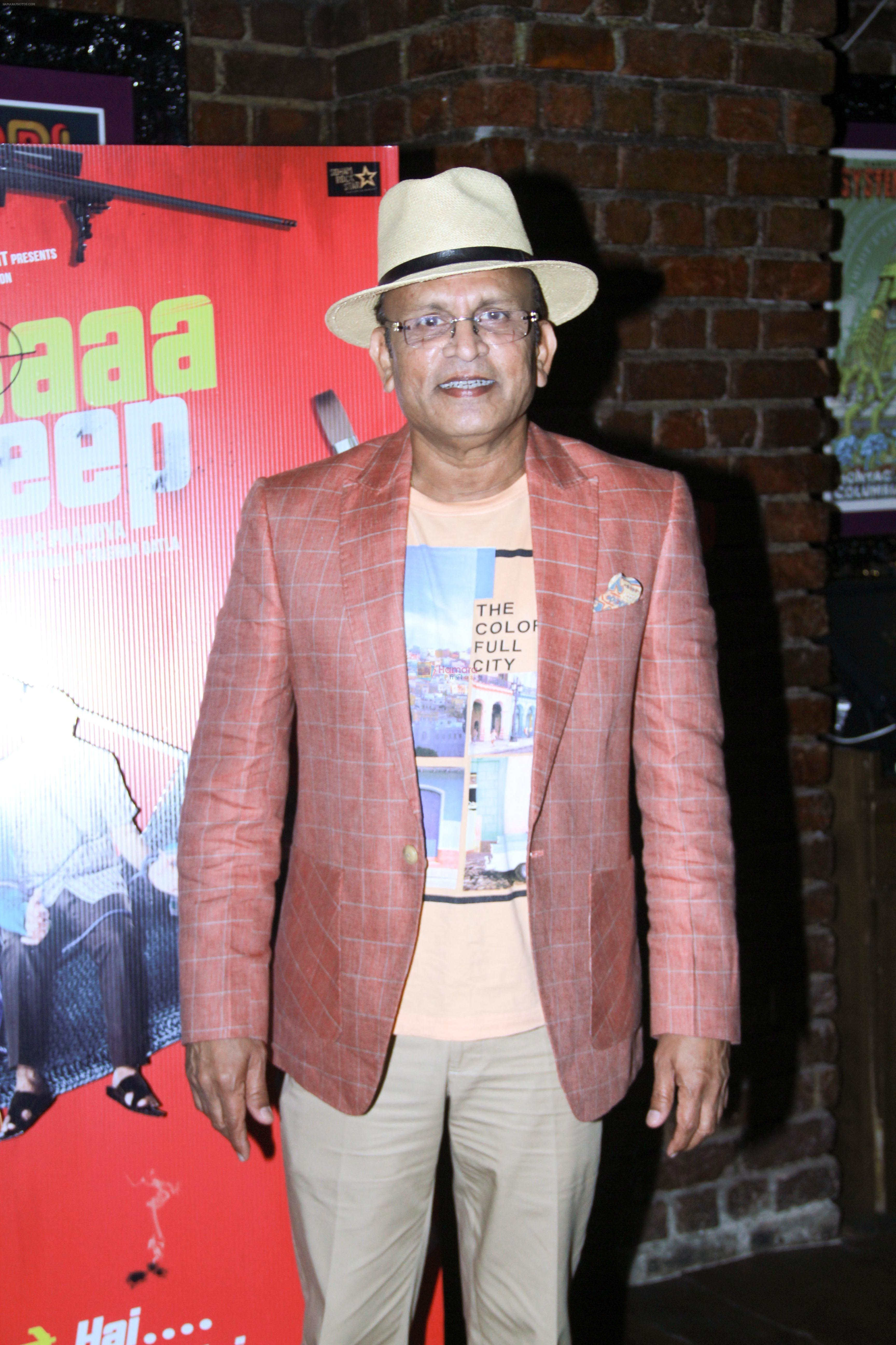 Annu Kapoor at the Song Launch Of Baa Baaa Black Sheep on 1st March 2018