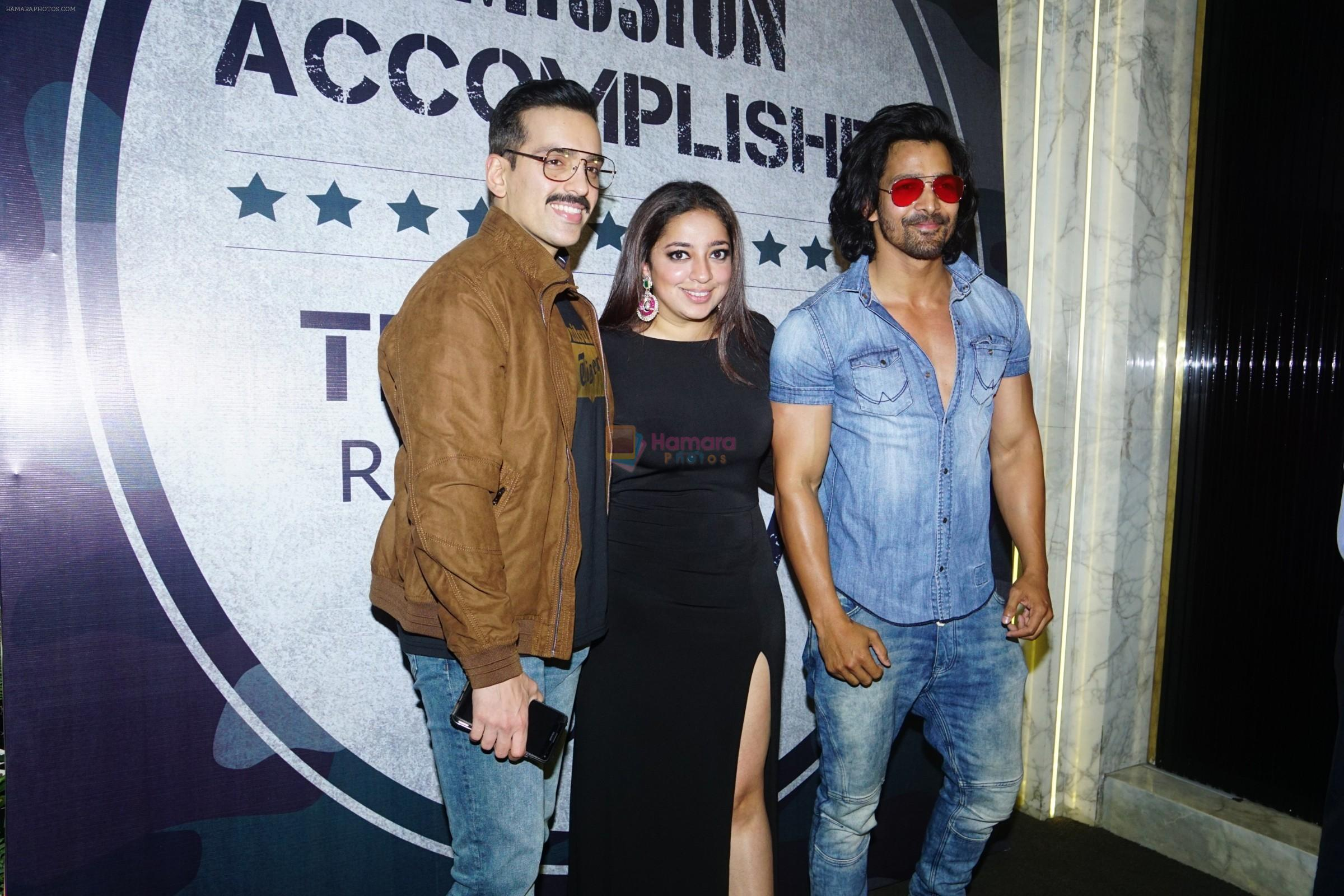 Luv Sinha, Harshvardhan Rane at Wrap Up Party Of Film Paltan in Arth on 7th March 2018