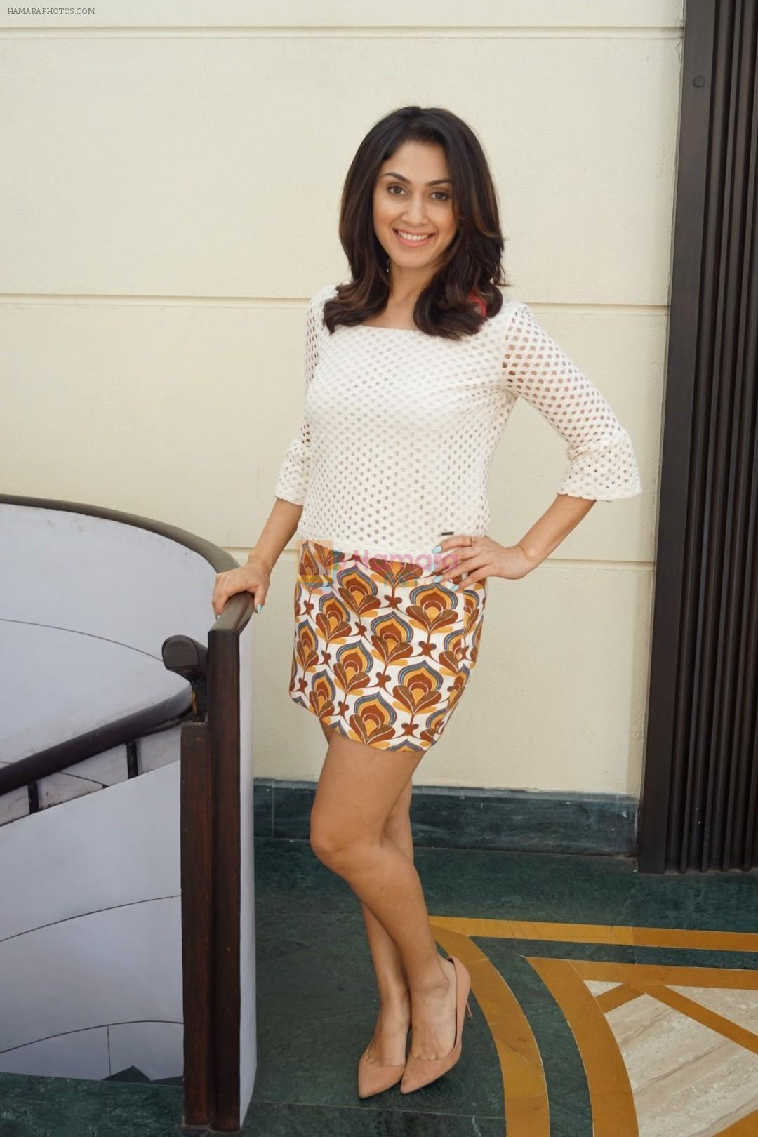 Manjari Phadnis Spotted For Promotion of Film Baa Baaa Black Sheep on 8th March 2018