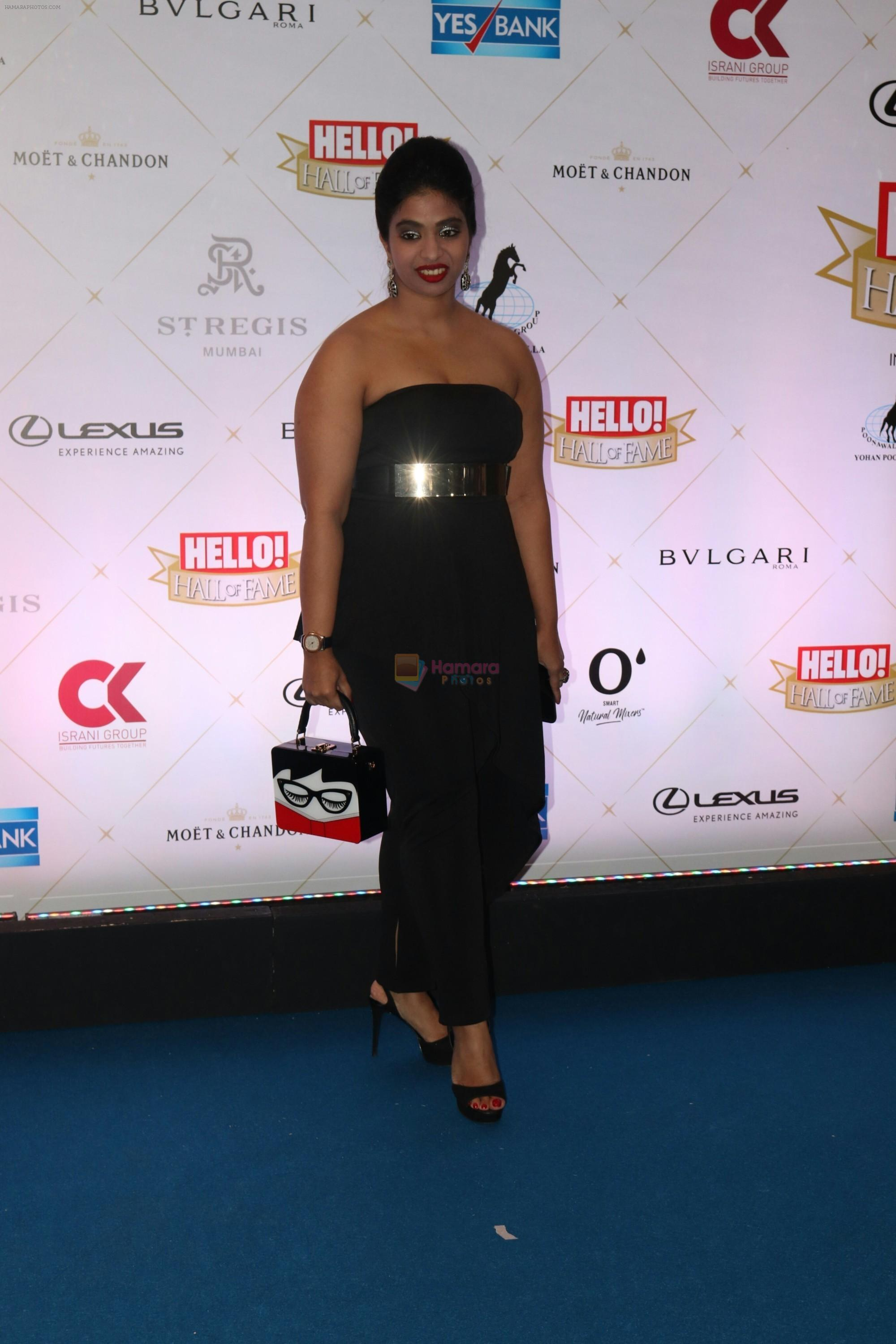 at Hello Hall of Fame Awards in st regis in mumbai on 12th March 2018