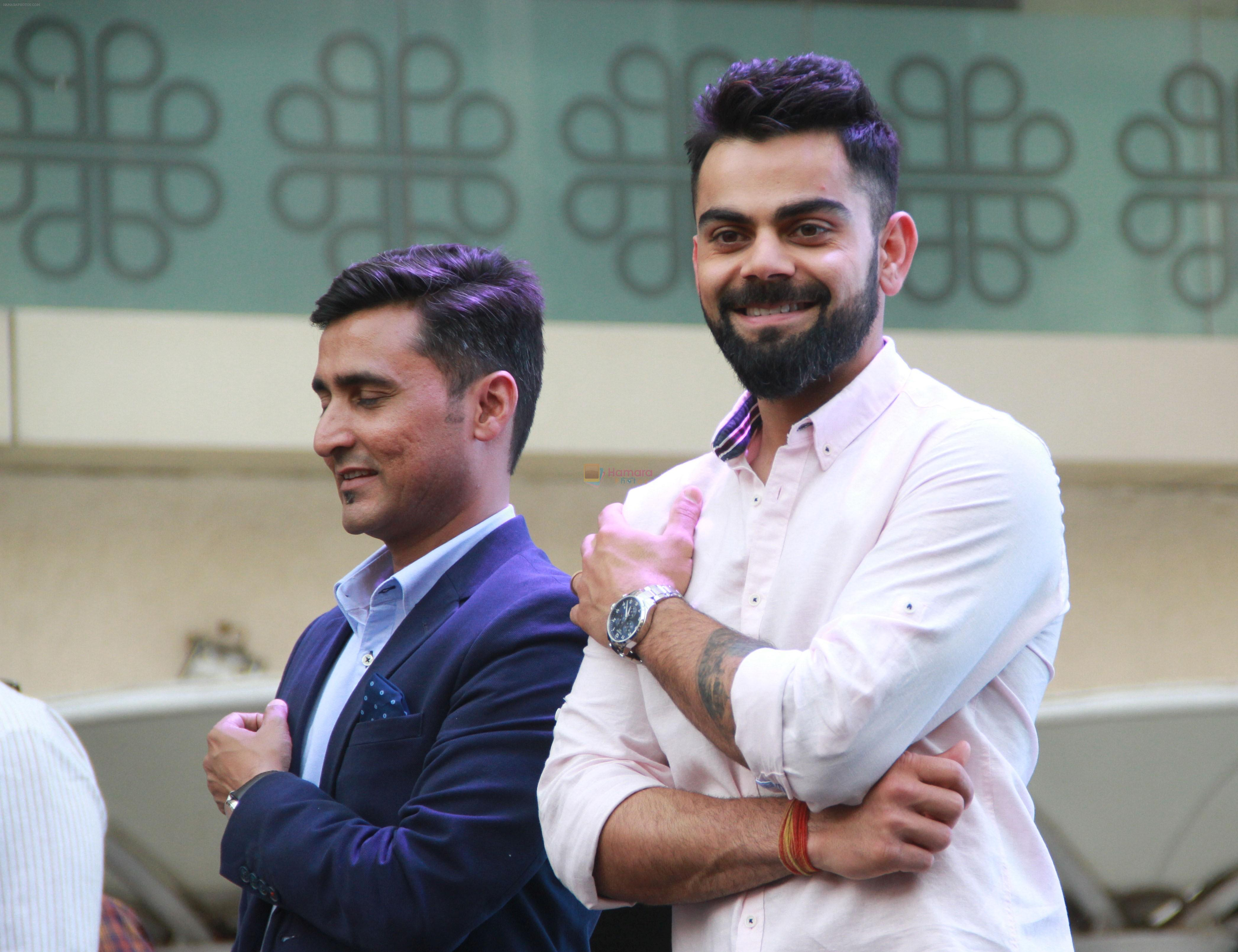 Virat Kohli at the Opening Of New Boutique Tissot An Swiss Watch Brand In Mumbai on 13th March 2018