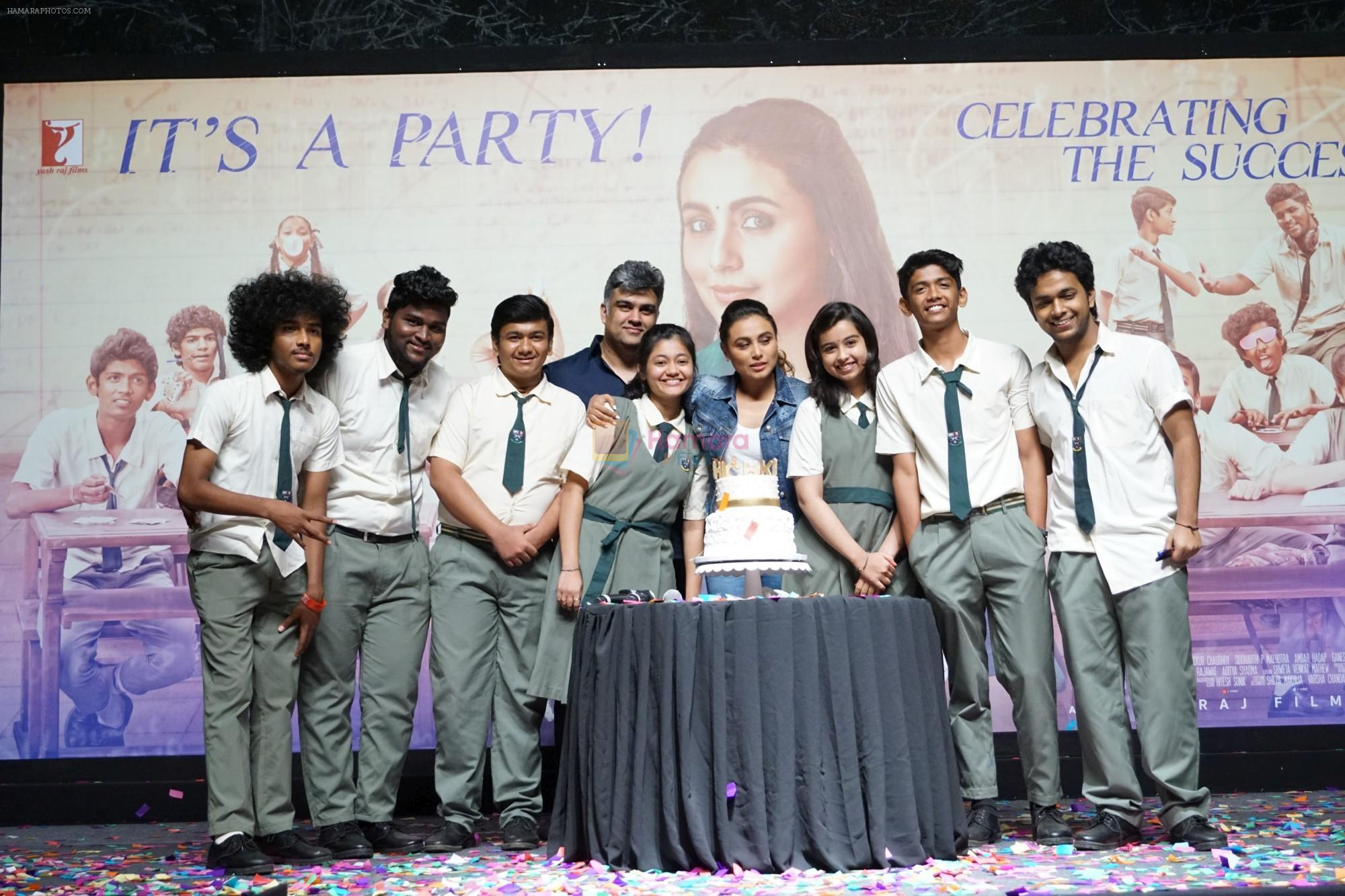 Rani Mukerji at the Success Party Of Film Hichki on 29th March 2018