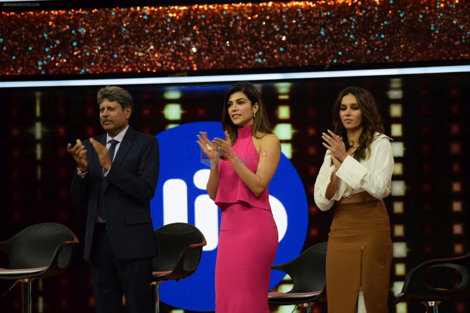 Kapil Dev at the Preview Of Jio Dhan Dhana Dhan LIVE on 6th April 2018