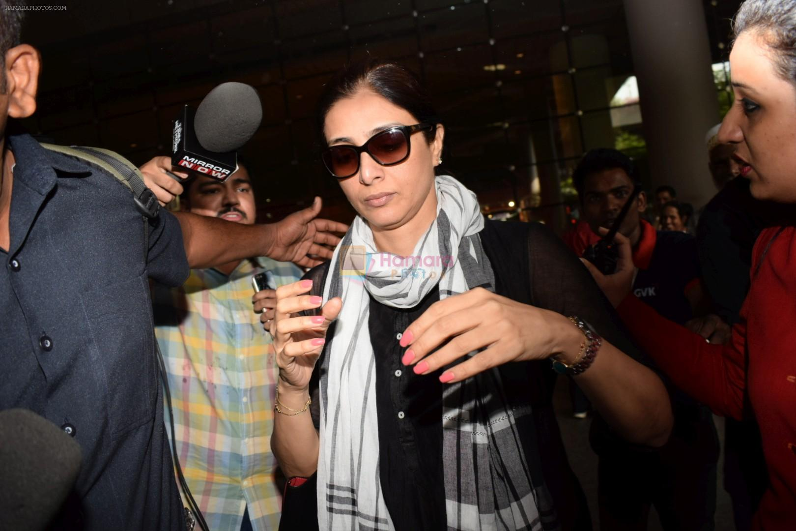Tabu Return From Jodhpur Spotted At Airport on 6th April 2018