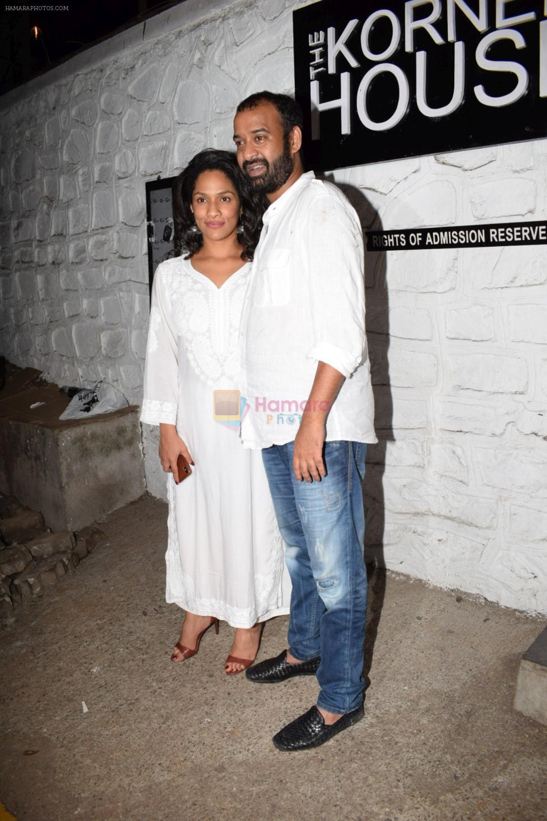 Masaba at Gourav Kapoor Birthday Party in Corner House on 12th April 2018