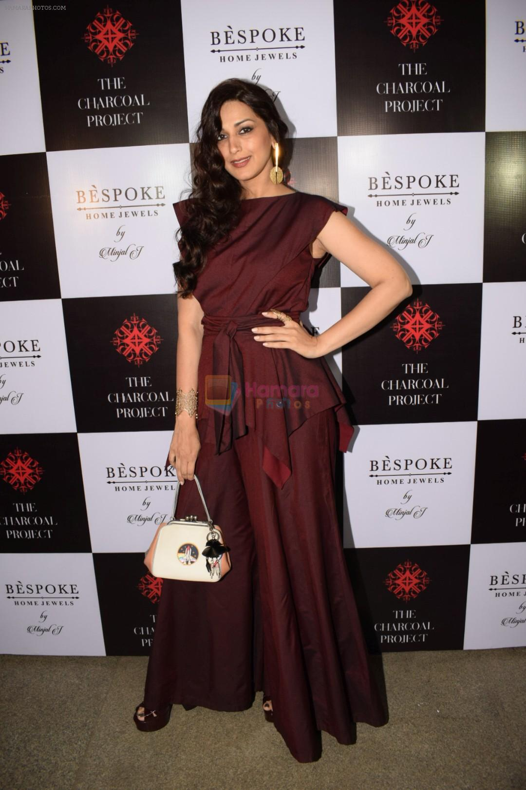 Sonali bendre At The Launch Of Bespoke Home Jewels By Minjal Jhaveri on 13th April 2018