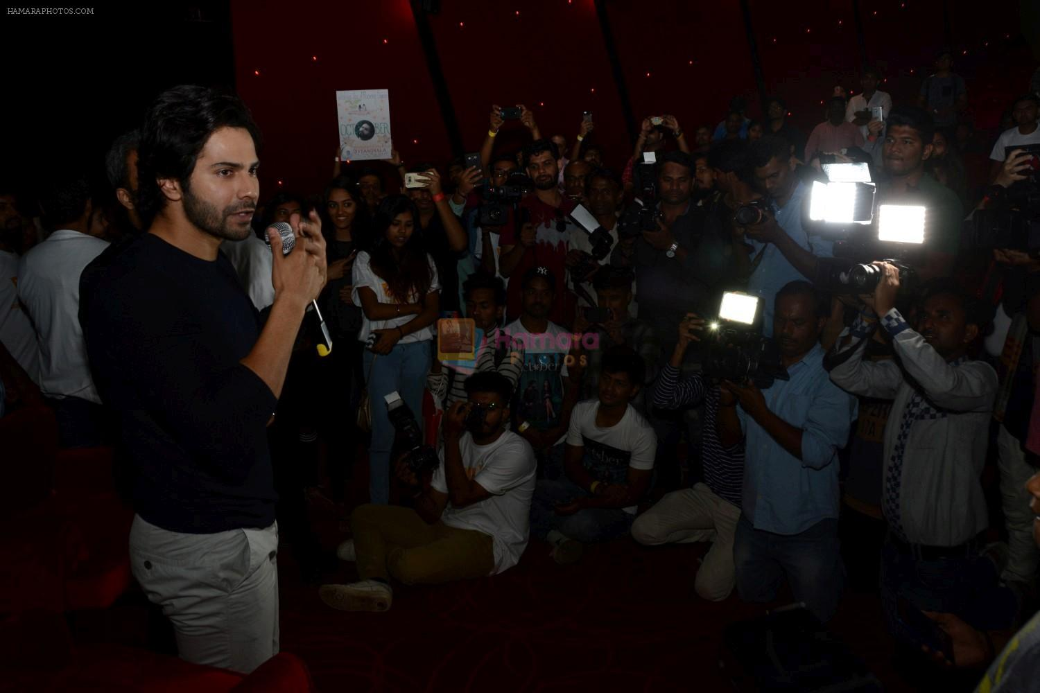 Varun Dhawan To Meet His Fan's At The October Screening on 13th April 2018