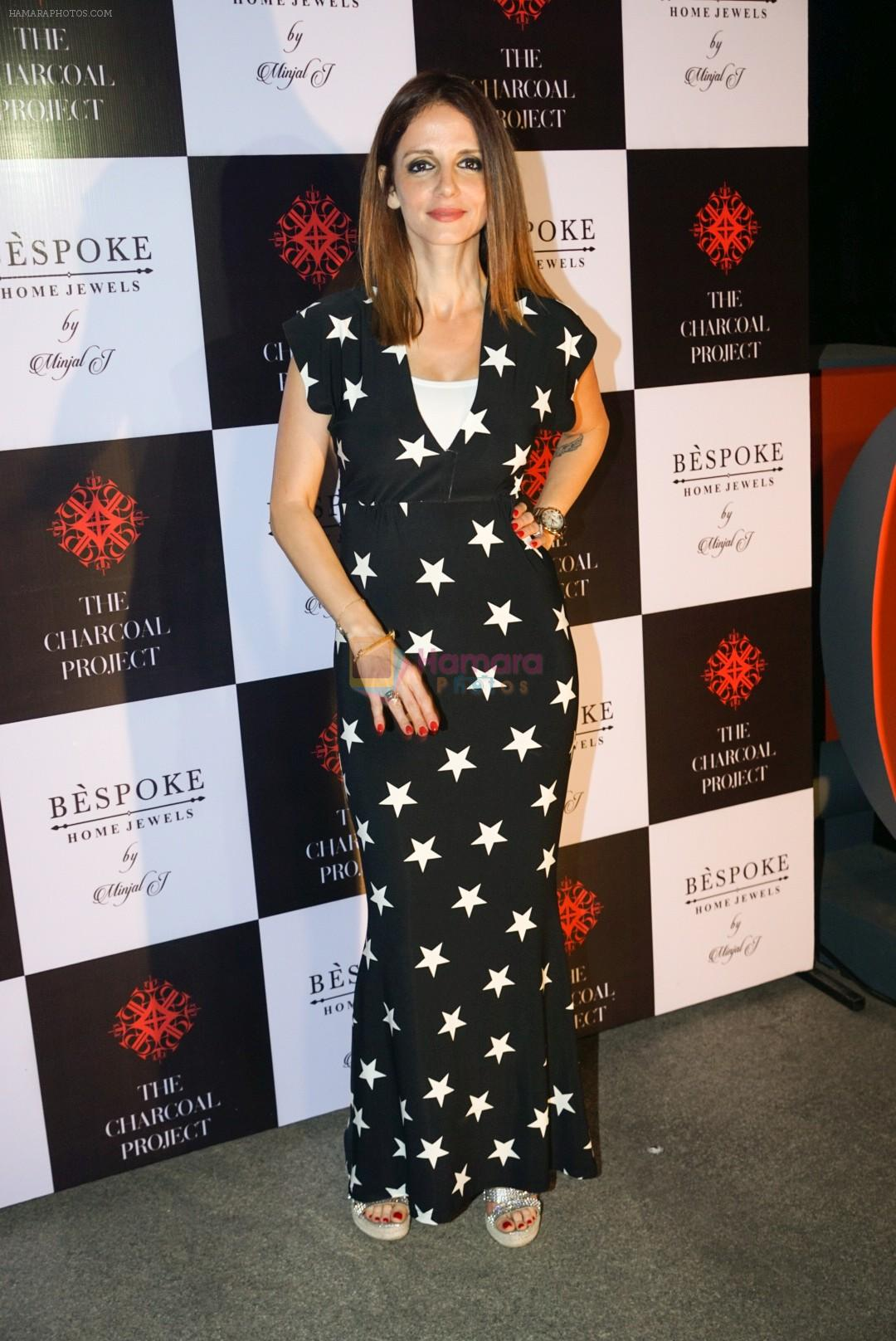 Sussanne Khan At The Launch Of Bespoke Home Jewels By Minjal Jhaveri on 13th April 2018
