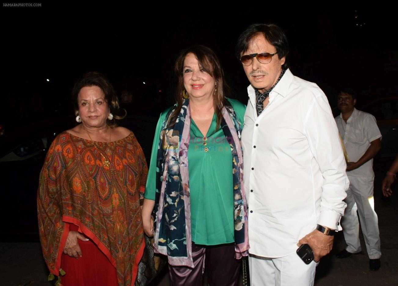 Sanjay Khan, Zarine Khan At The Launch Of Bespoke Home Jewels By Minjal Jhaveri on 13th April 2018