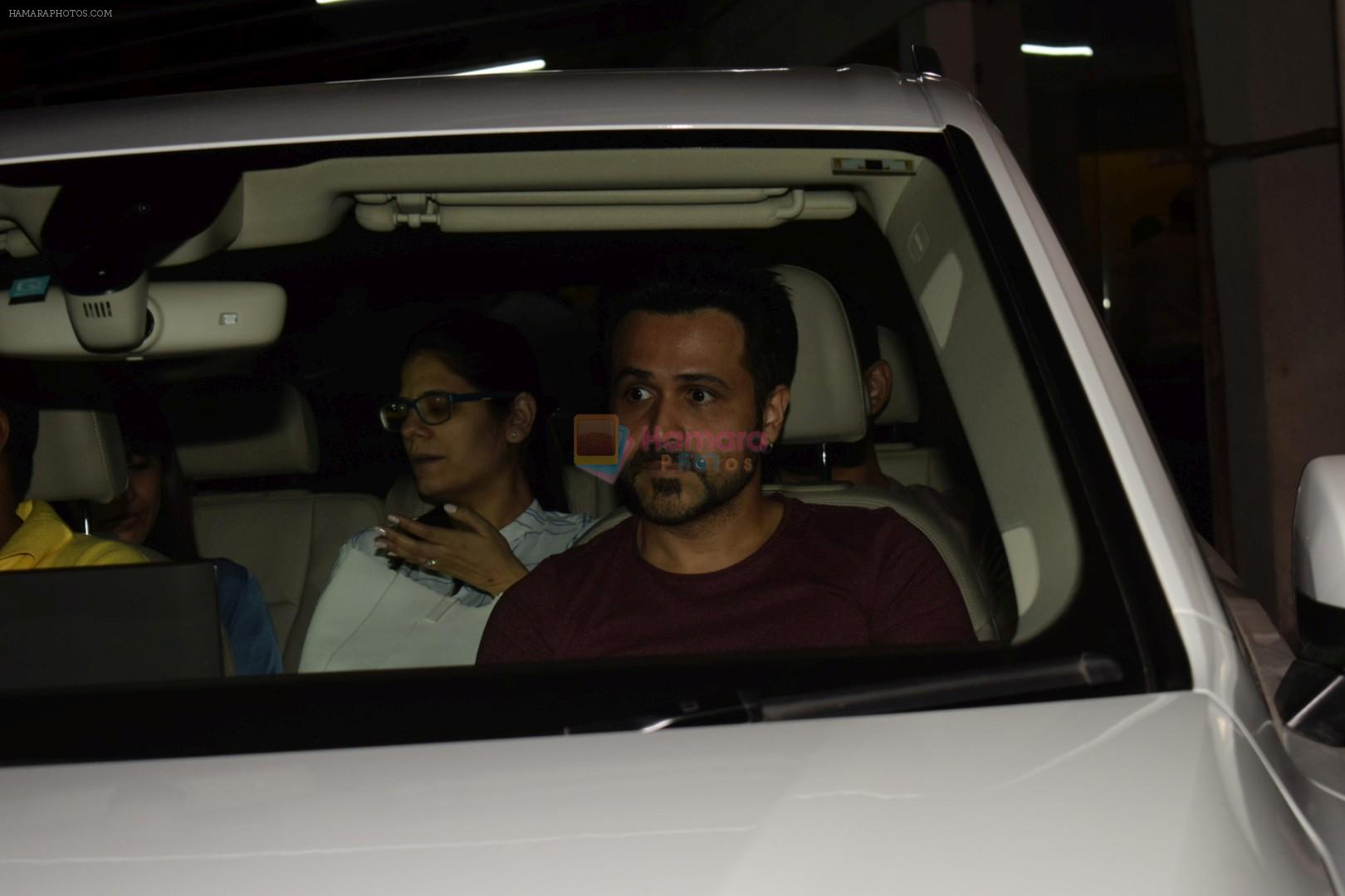 Emraan Hashmi Spotted Sunny Super Sound on 13th April 2018