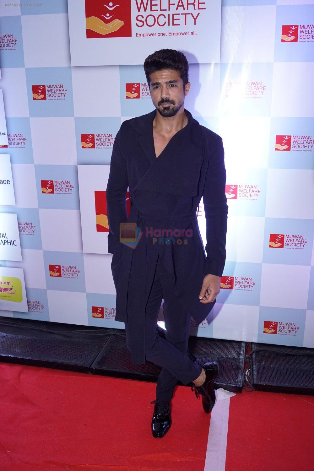 Saqib Saleem at the Red Carpet Of 9th The Walk Of Mijwan on 19th April 2018