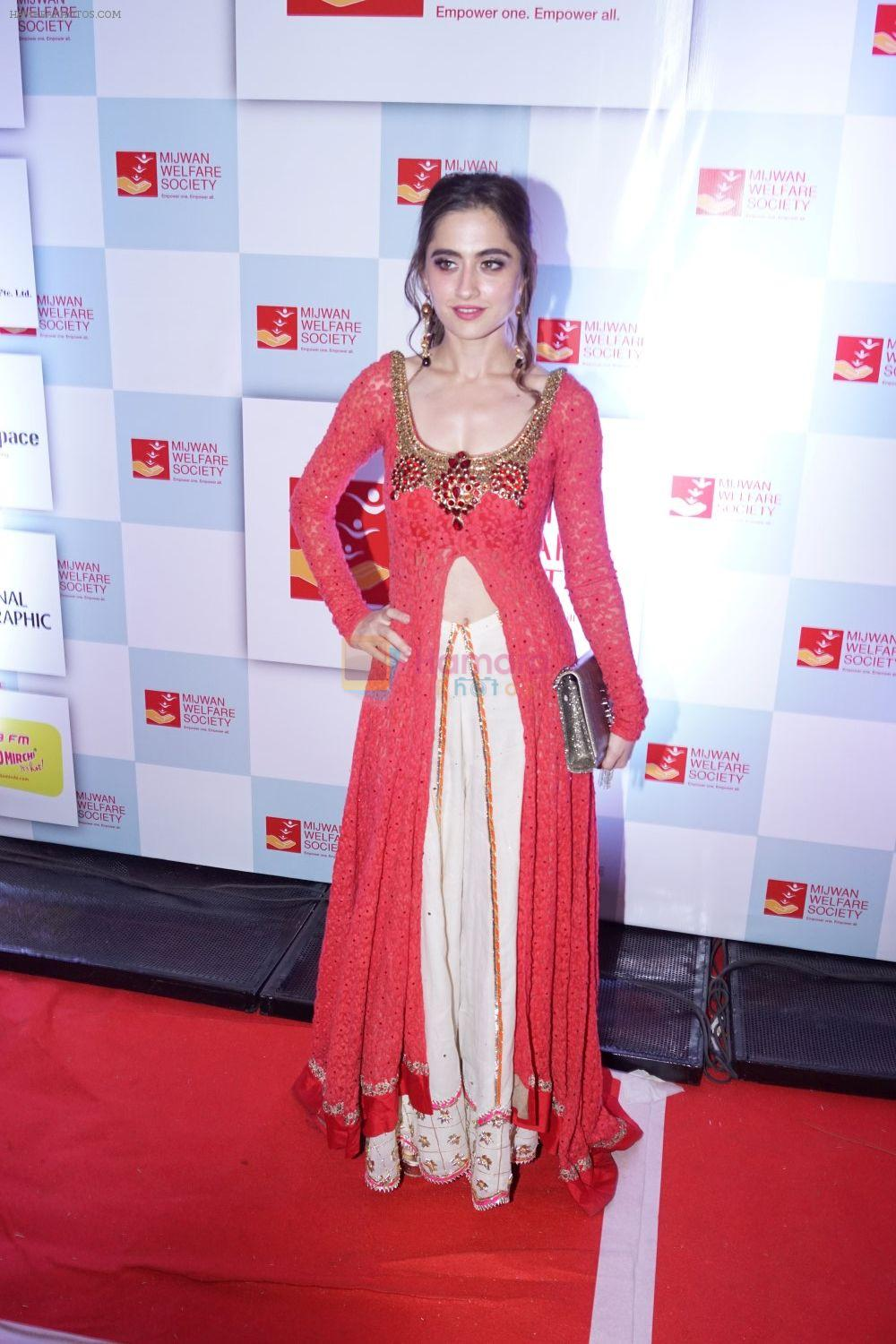 Sanjeeda Sheikh at the Red Carpet Of 9th The Walk Of Mijwan on 19th April 2018
