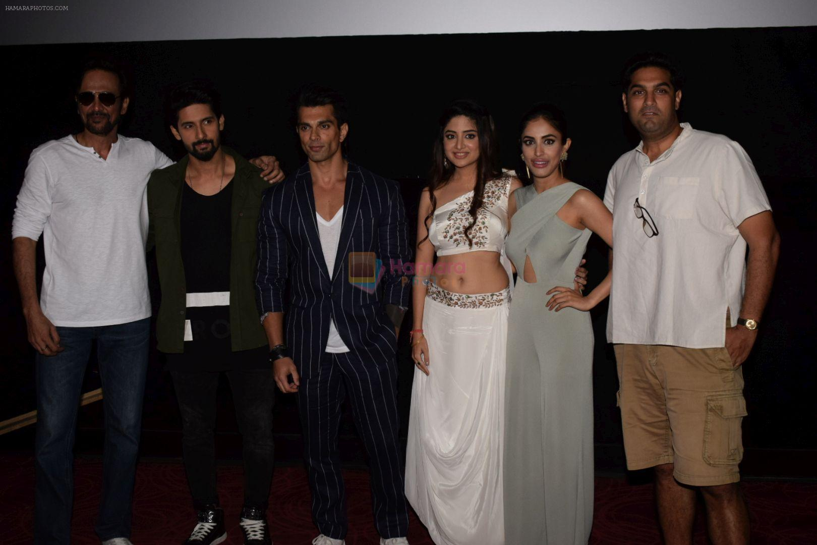 Karan Singh Grover, Kunaal Roy Kapur, Ravi Dubey, Kay Kay Menon, Priya Banerjee, Poonam Kaur at the Trailer  Launch of Film 3 Dev on 27th April 2018