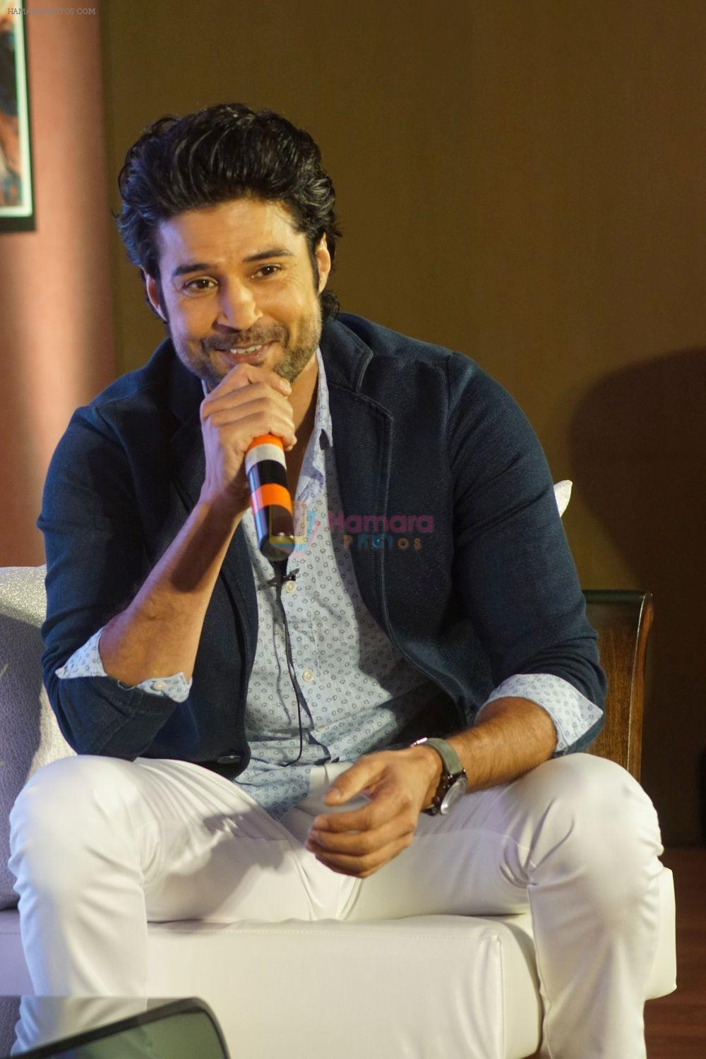 Rajeev Khandelwal at the press conference For Its Upcoming Chat Show Juzzbaatt on 27th April 2018