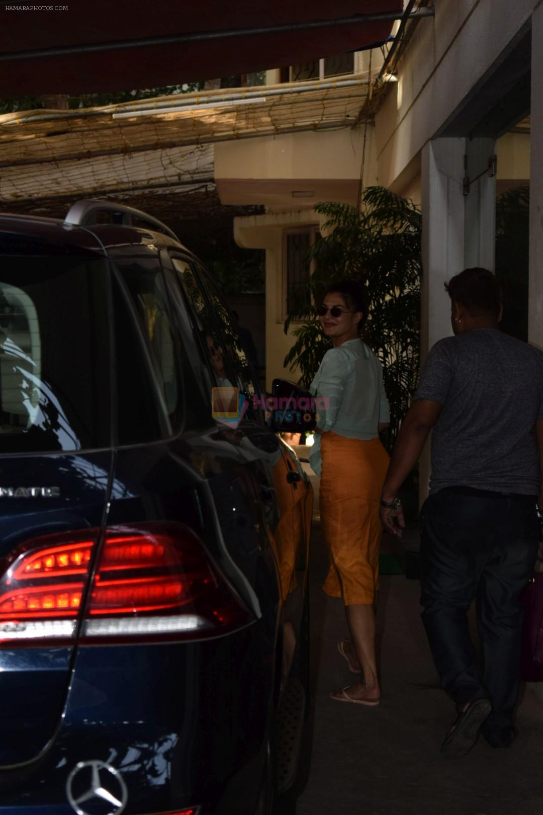 Daisy Shah spotted at sunny sound studio in juhu, mumbai on 5th May 2018