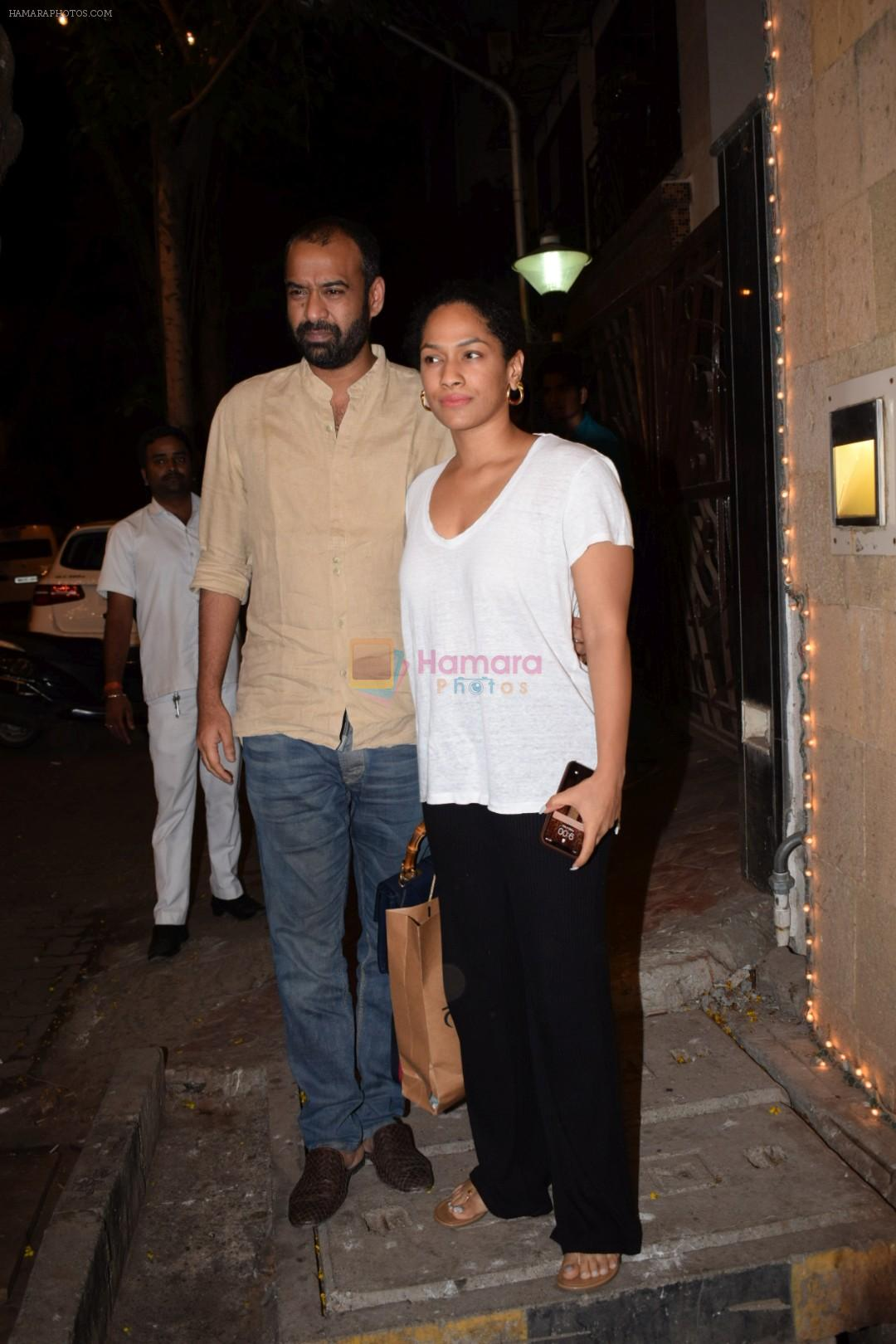 Masaba spotted at Anil Kapoor's house in juhu, mumbai on 5th May 2018
