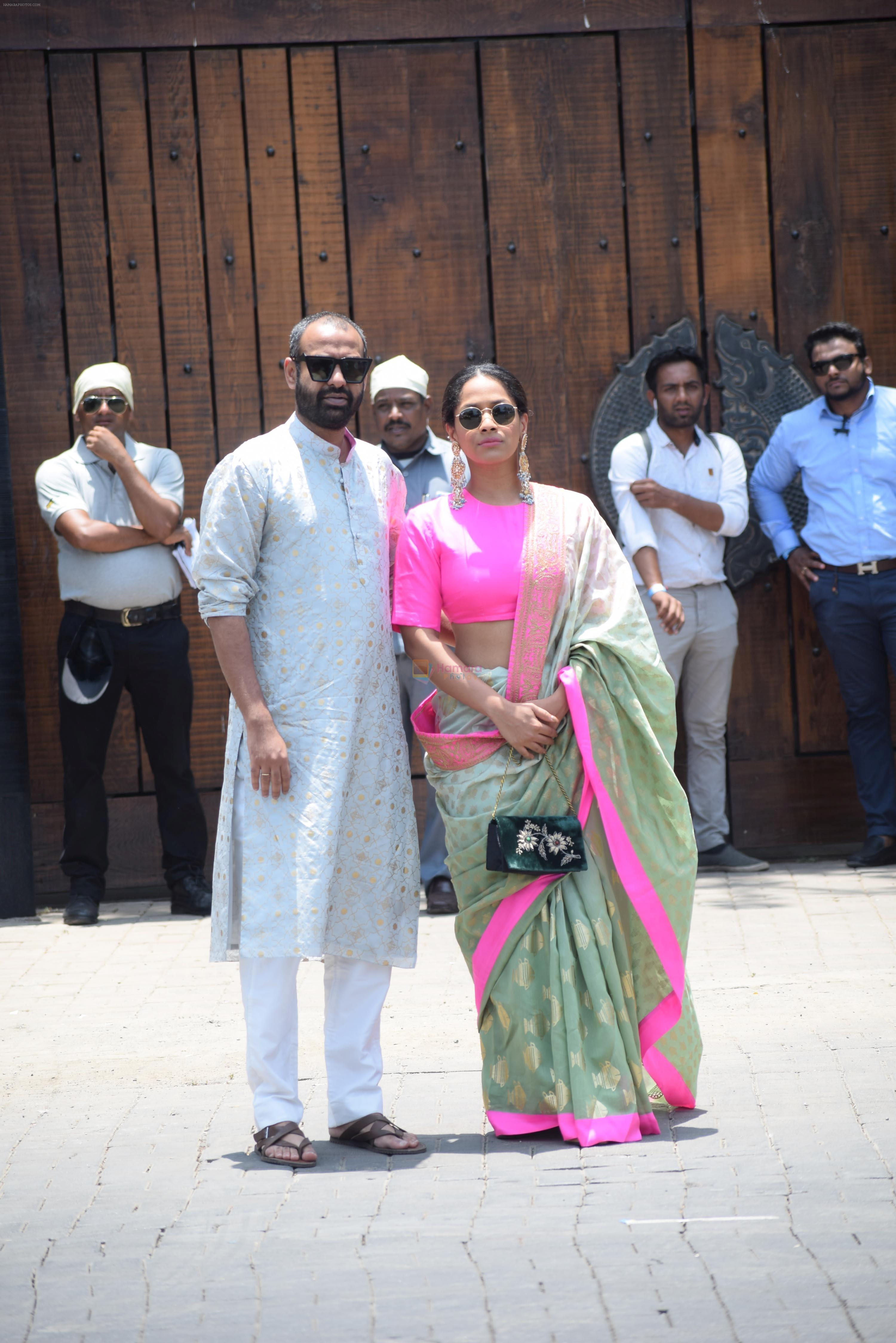 Masaba at Sonam Kapoor Anand Ahuja's wedding in rockdale bandra on 8th May 2018