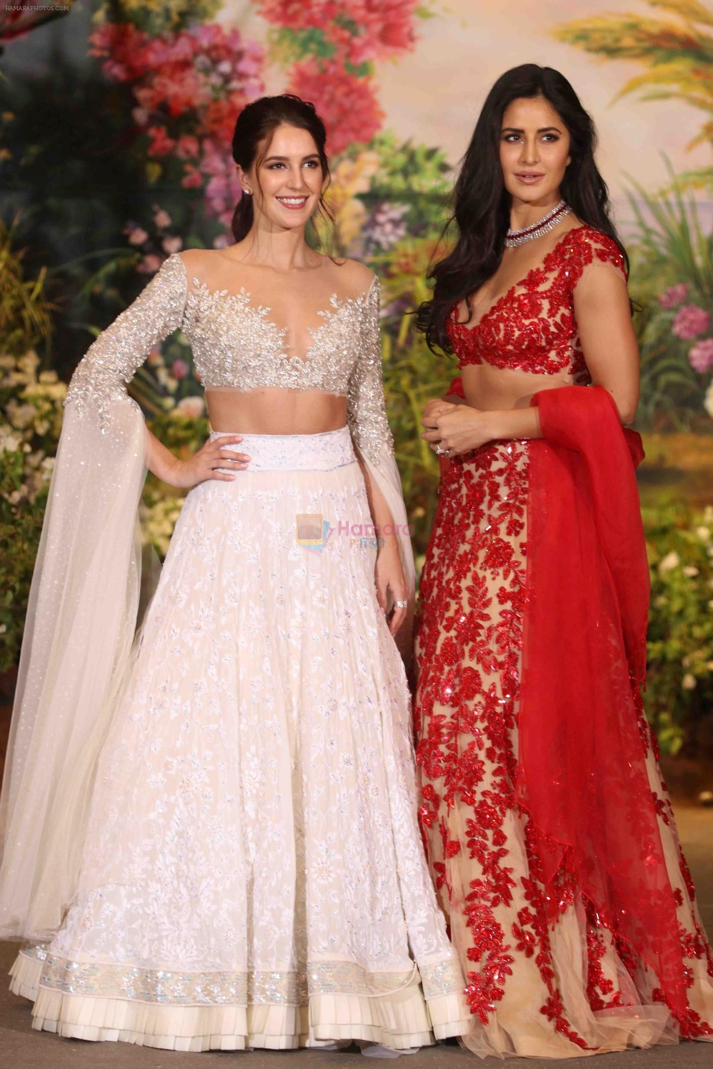 Katrina Kaif Isabella At Sonam Kapoor And Anand Ahuja S Wedding Reception On 8th May 2018