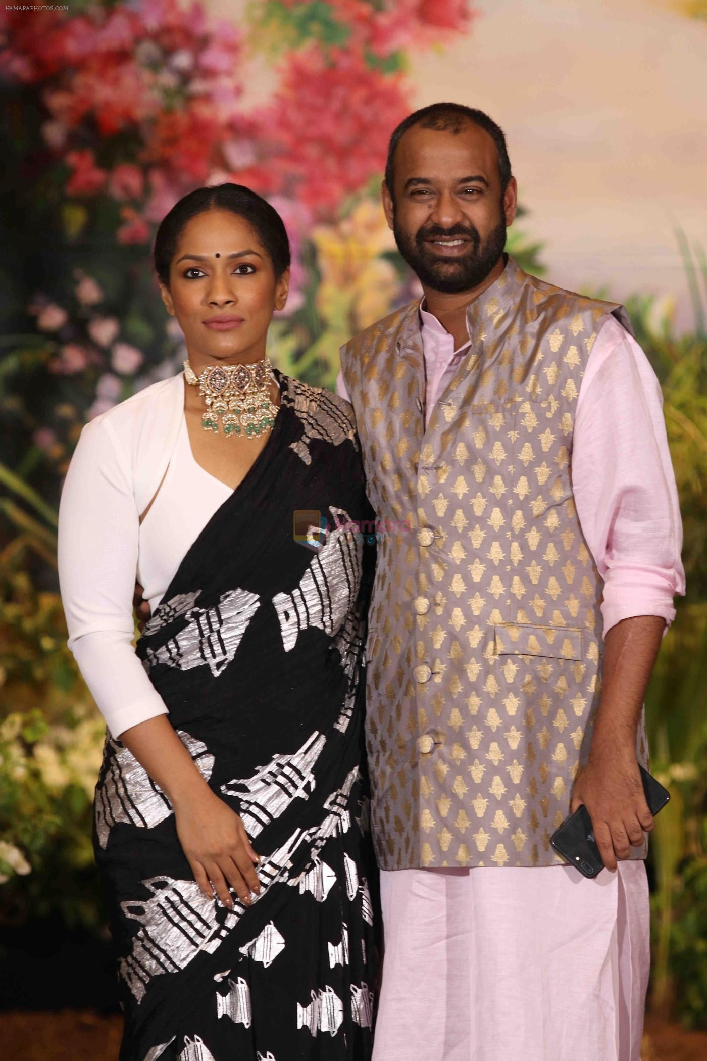 Masaba at Sonam Kapoor and Anand Ahuja's Wedding Reception on 8th May 2018