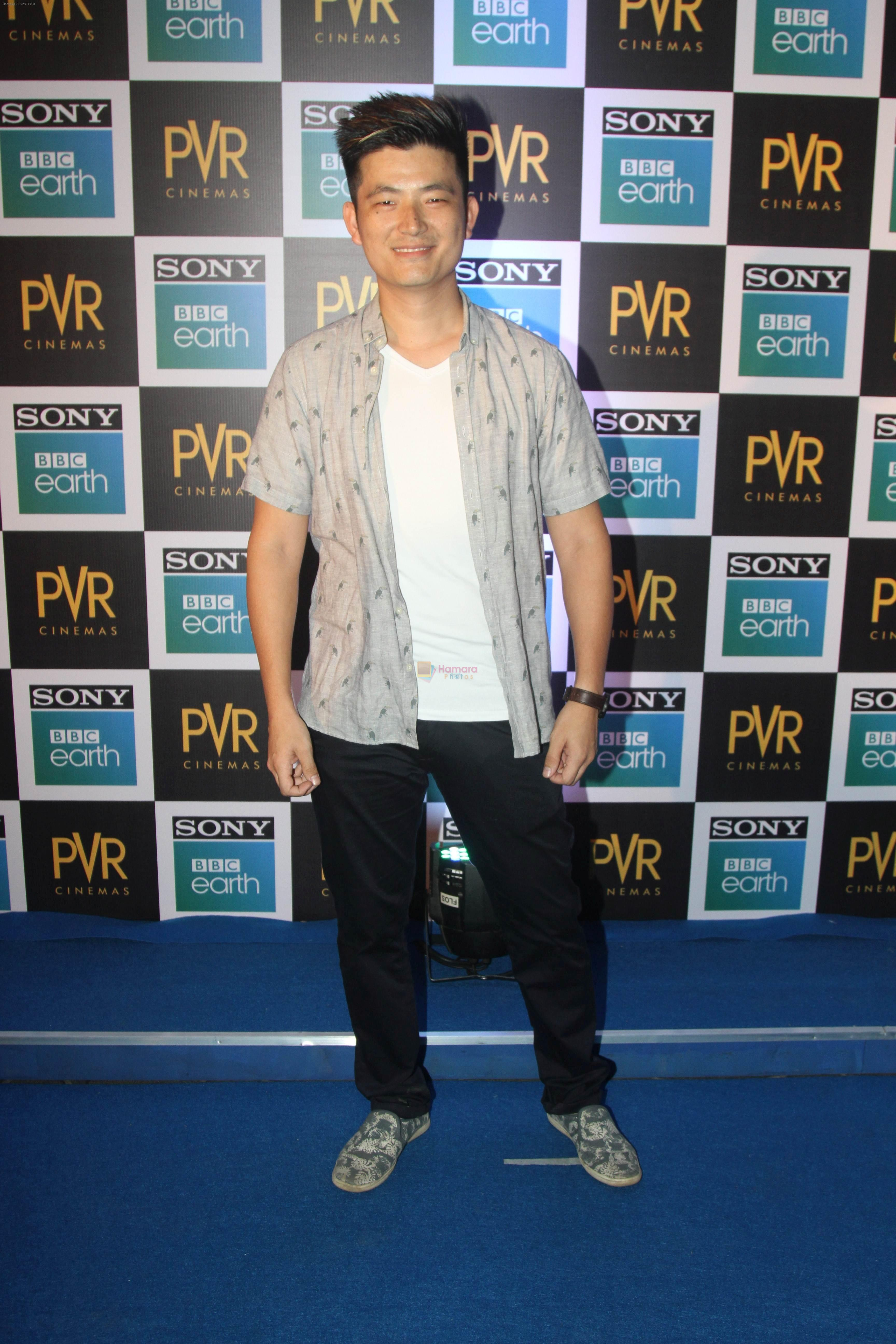 Meiyang Chang at the Screening of Sony BBC Earth's film Blue Planet 2 at pvr icon in andheri on 15th May 2018