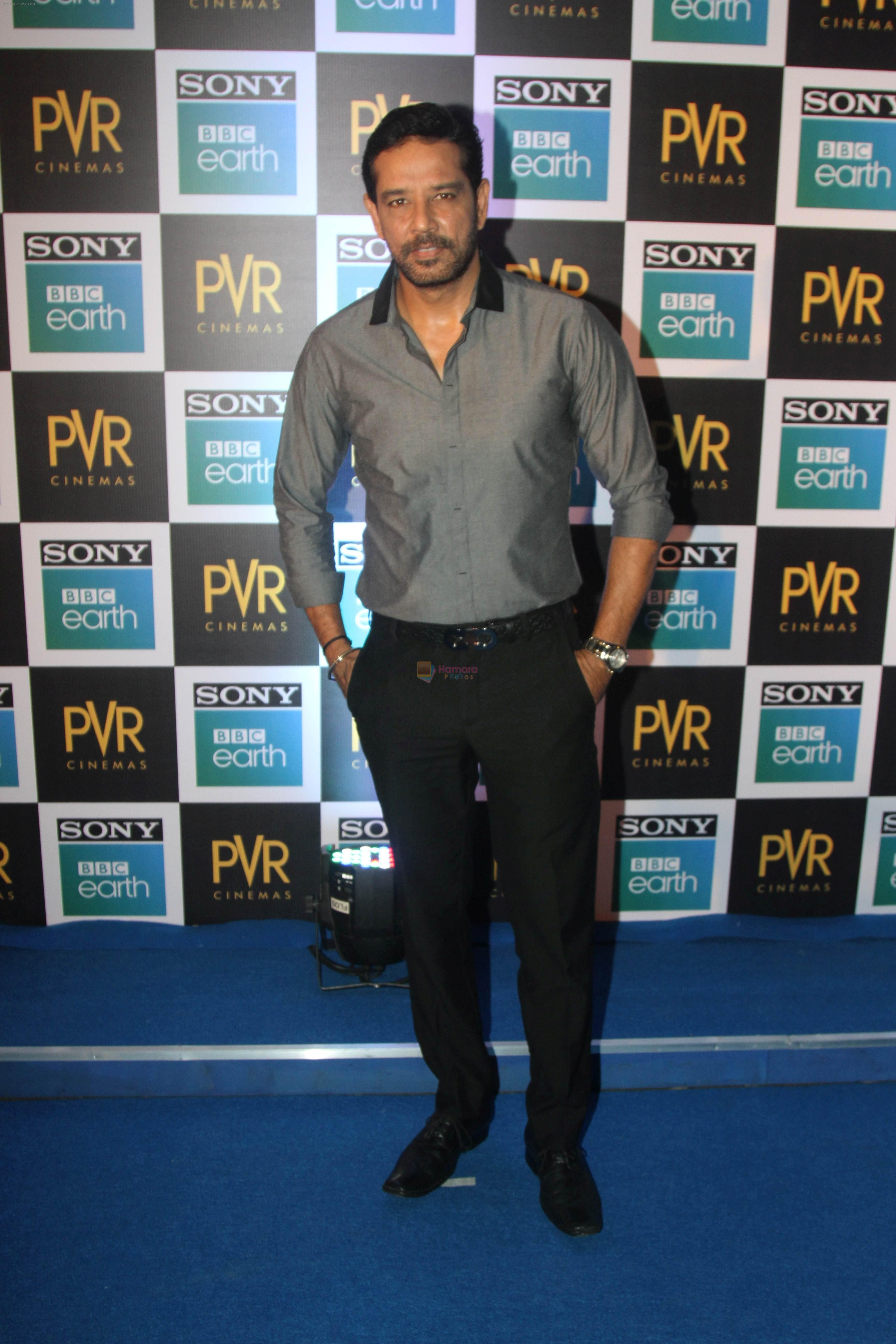 Anup Soni at the Screening of Sony BBC Earth's film Blue Planet 2 at pvr icon in andheri on 15th May 2018