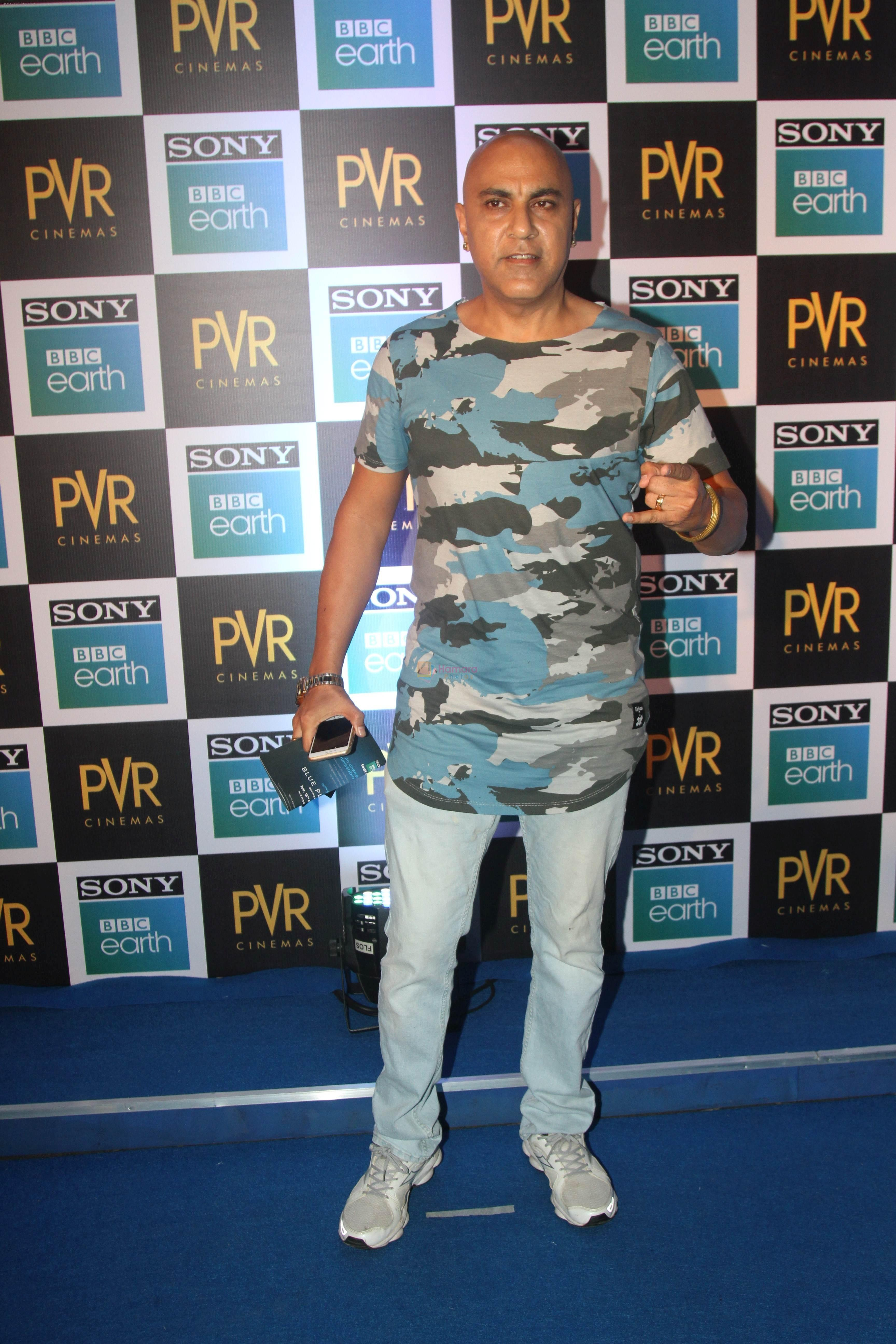 Baba Sehgal at the Screening of Sony BBC Earth's film Blue Planet 2 at pvr icon in andheri on 15th May 2018