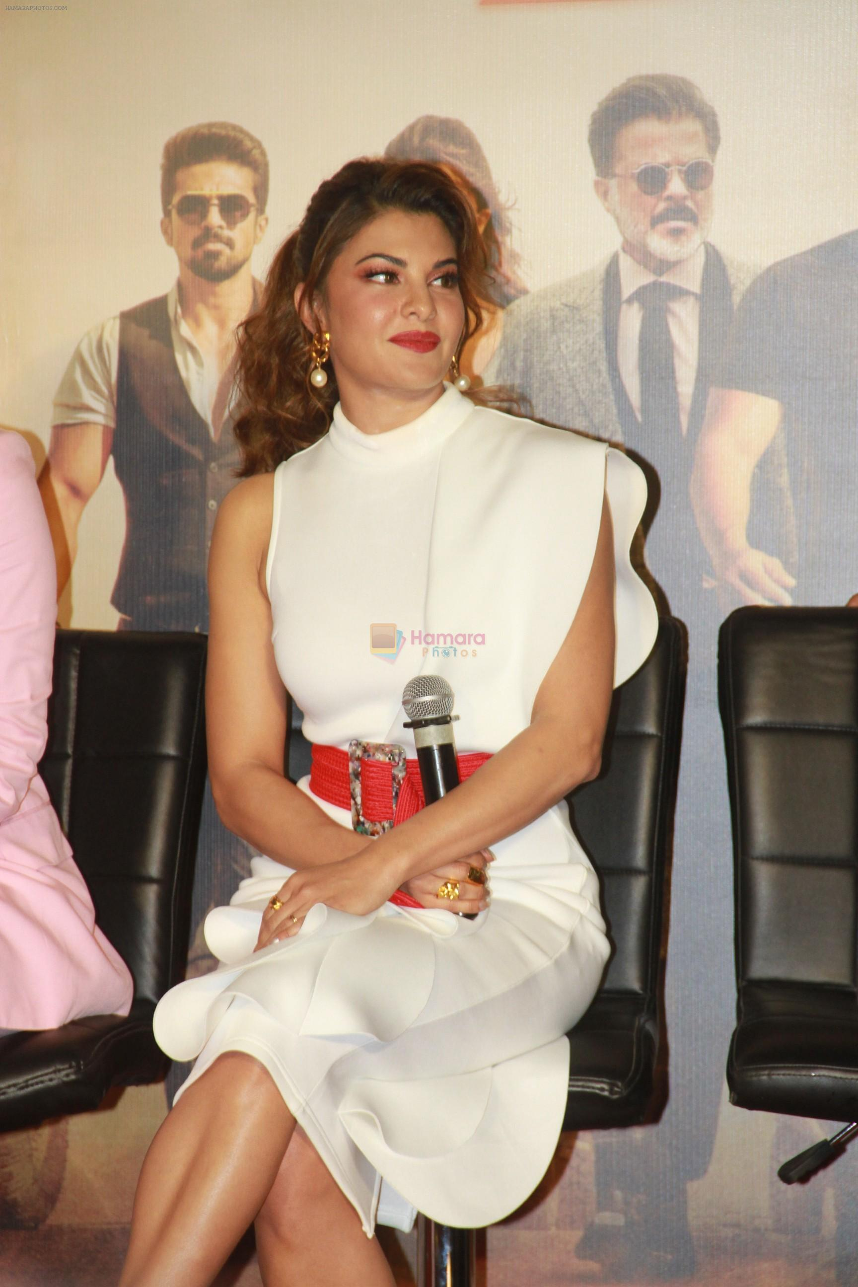 Jacqueline Fernandez at Race3 trailer launch at pvr juhu on 15th May 2018