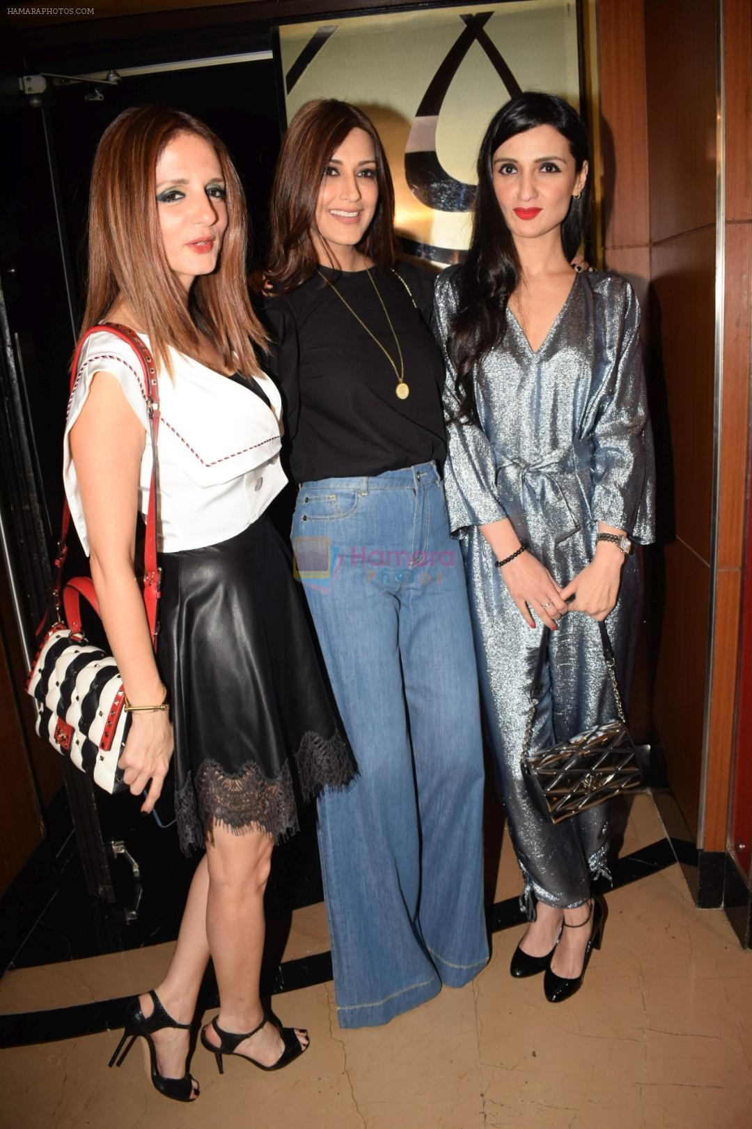 Suzanne Khan, Sonali Bendre, Anu Dewan at the Screening of hollywood film book club at pvr juhu on 16th May 2018