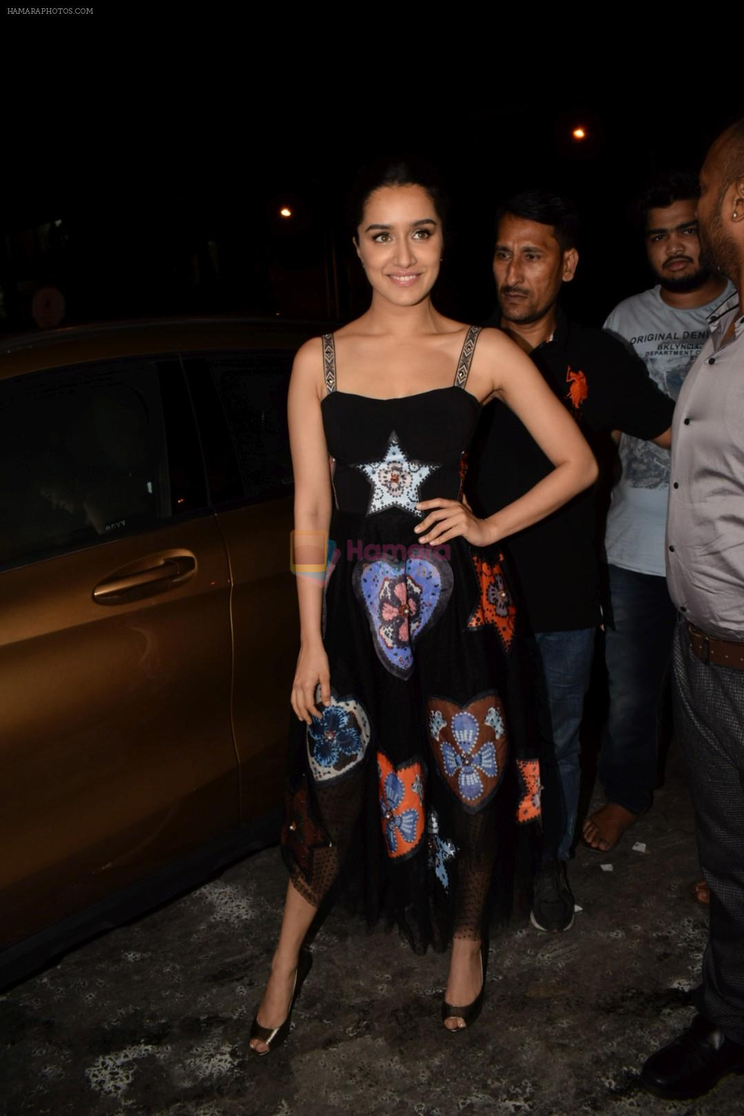 Shraddha Kapoor at Wrapup party of film Stree at Bastian in bandra on 16th May 2018